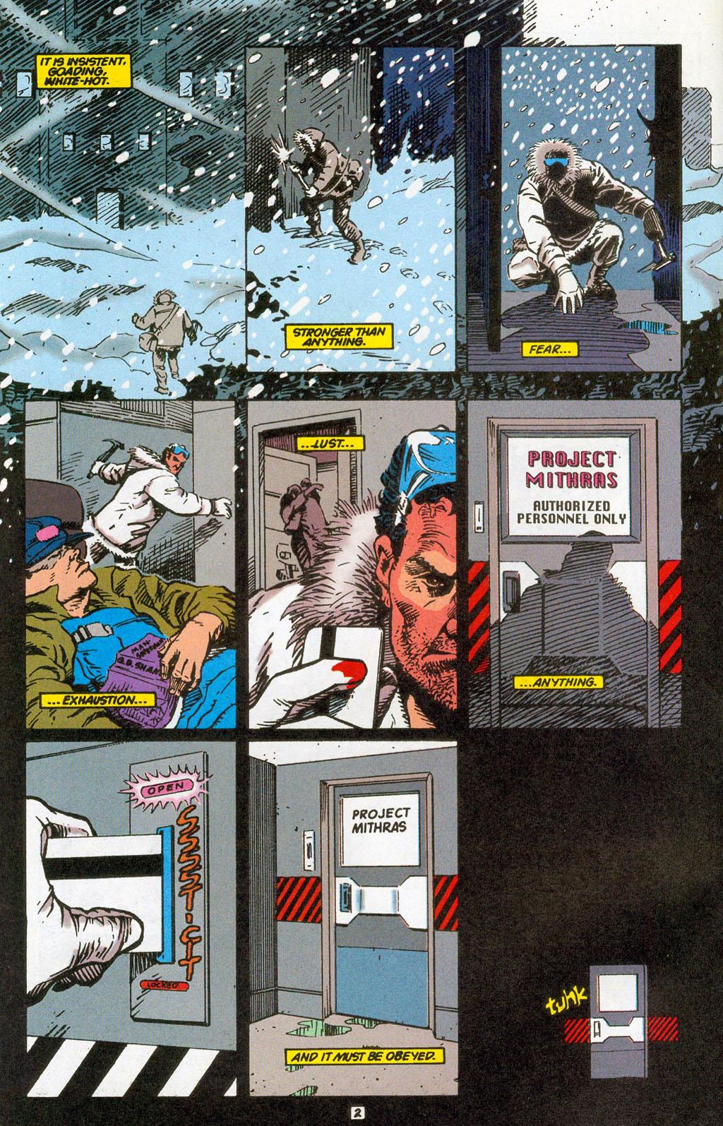 Hawkman (1993) Issue #24 #27 - English 4