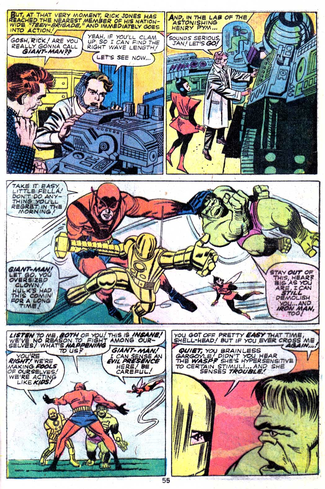 Giant-Size Avengers (1974) issue 3 - Page 57