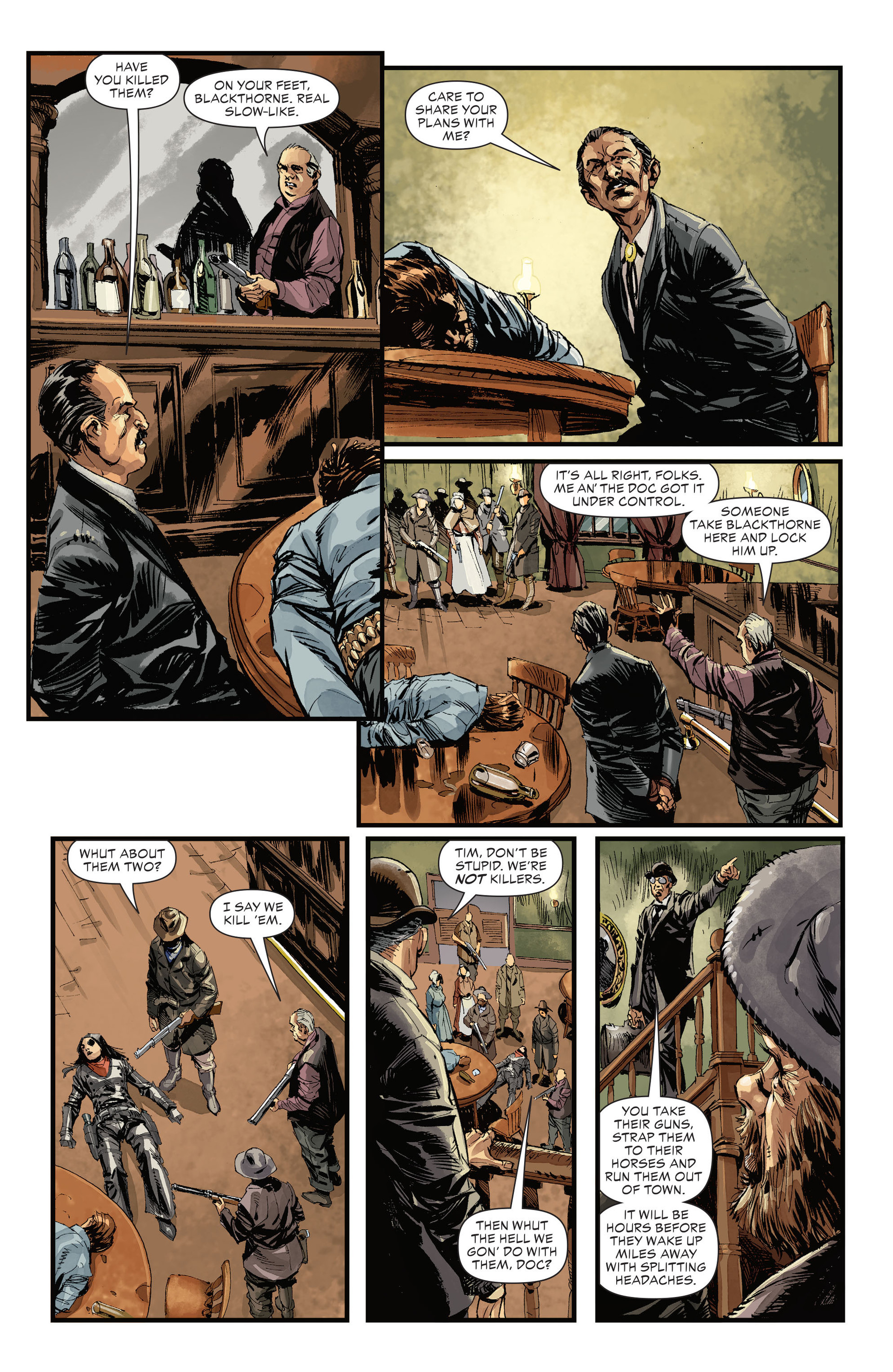 Read online All-Star Western (2011) comic -  Issue #32 - 12