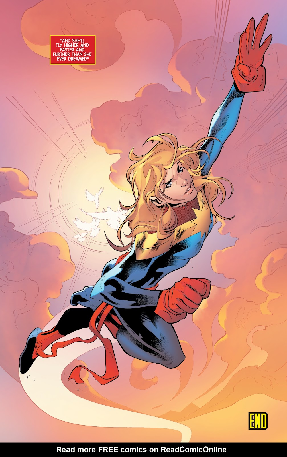 Read online Captain Marvel: Braver & Mightier comic -  Issue #1 - 22