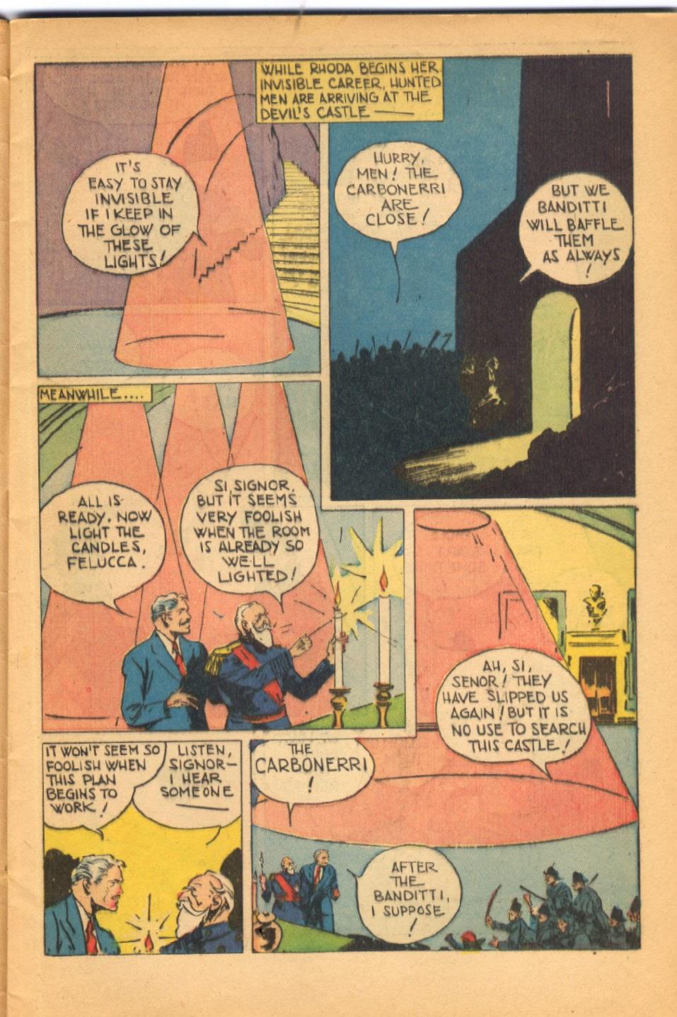 Read online Super-Magician Comics comic -  Issue #38 - 11