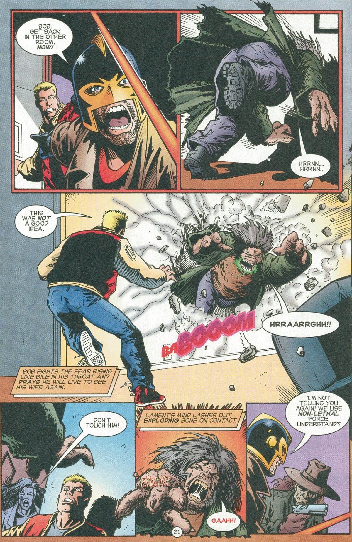 Read online UltraForce (1995) comic -  Issue #6 - 24