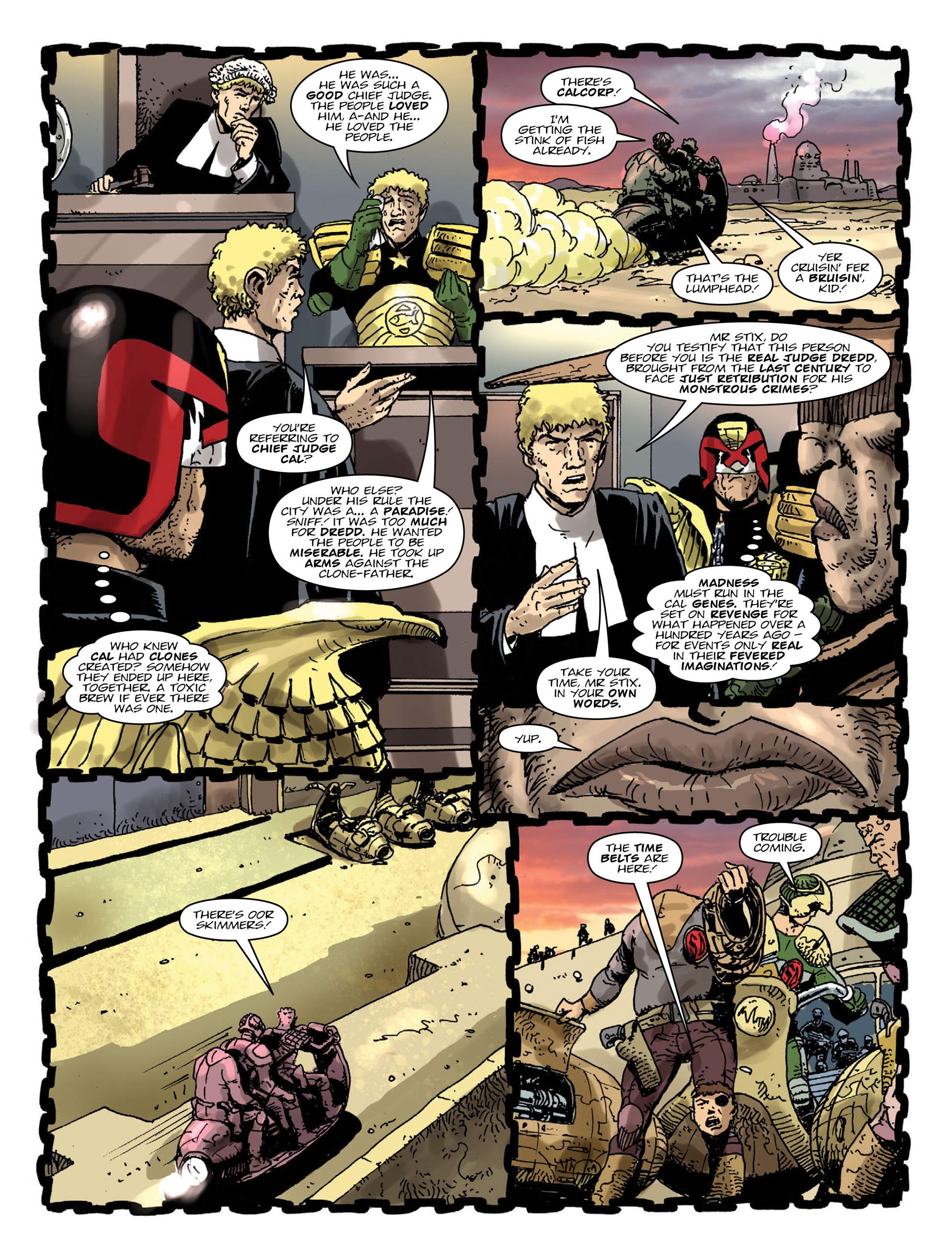 Read online 2000 AD comic -  Issue #2000 - 12