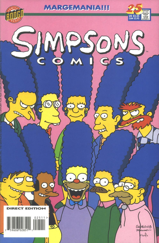 Read online Simpsons Comics comic -  Issue #25 - 1