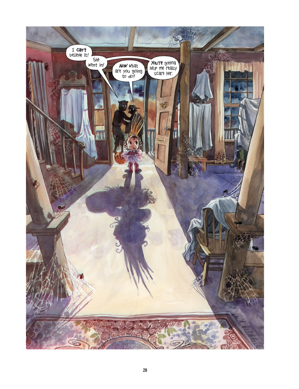 Read online Scary Godmother comic -  Issue # TPB - 20
