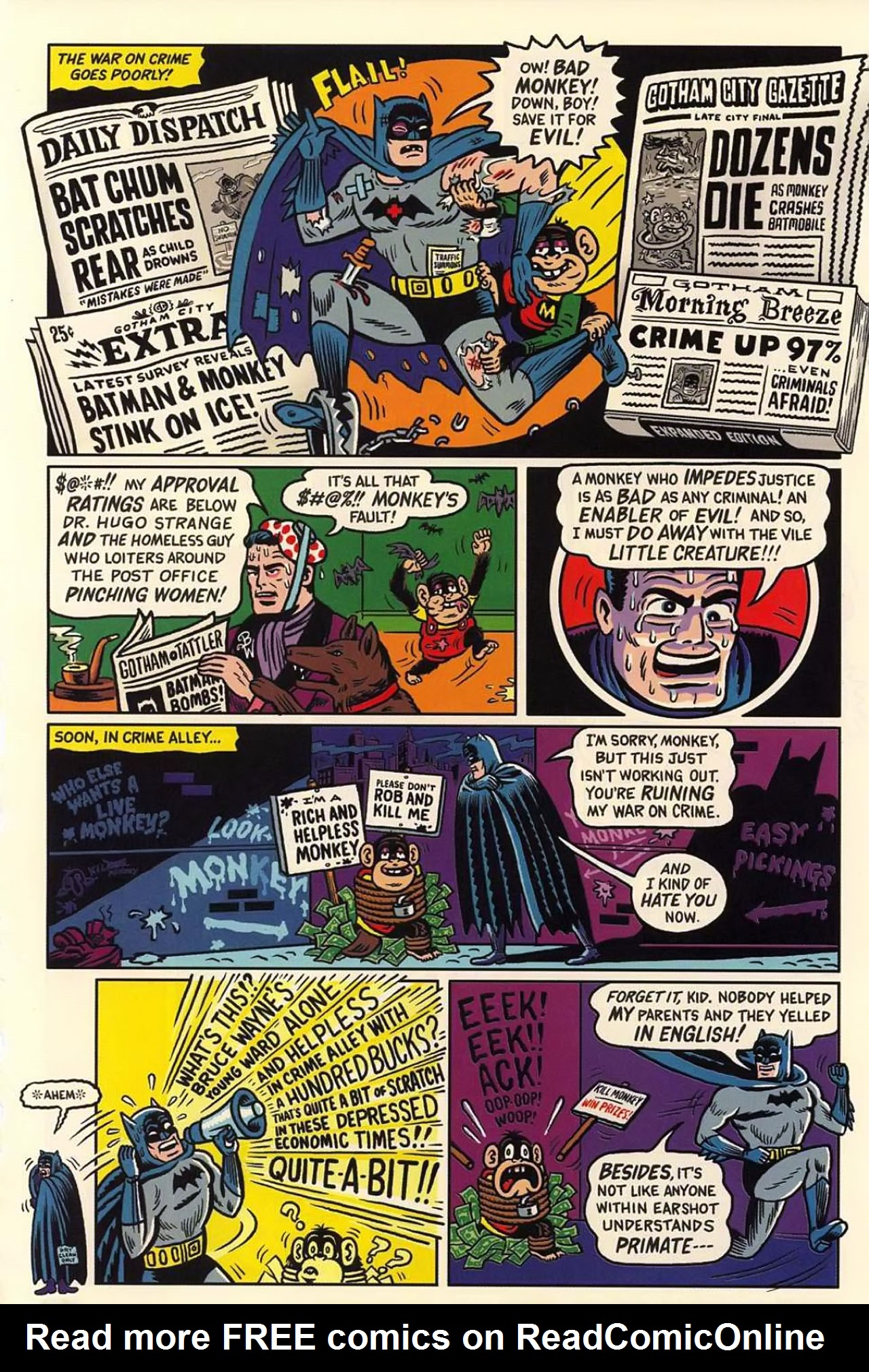 Read online Bizarro World comic -  Issue # TPB - 92