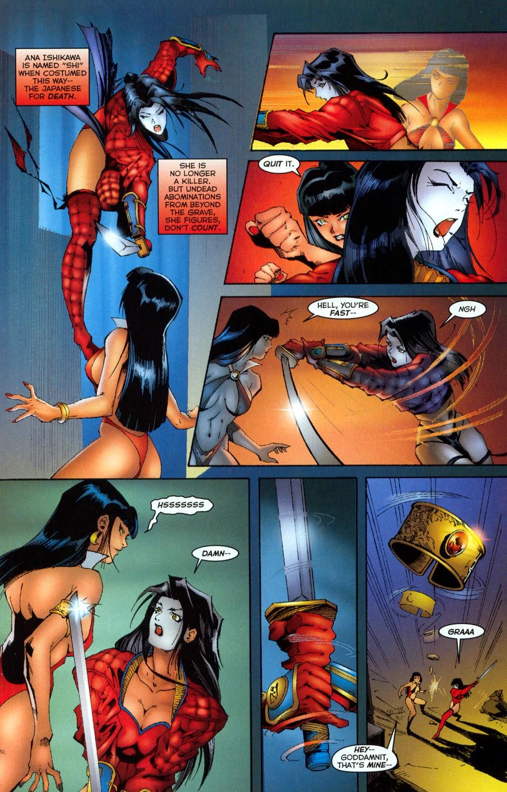 Shi/Vampirella issue Full - Page 12