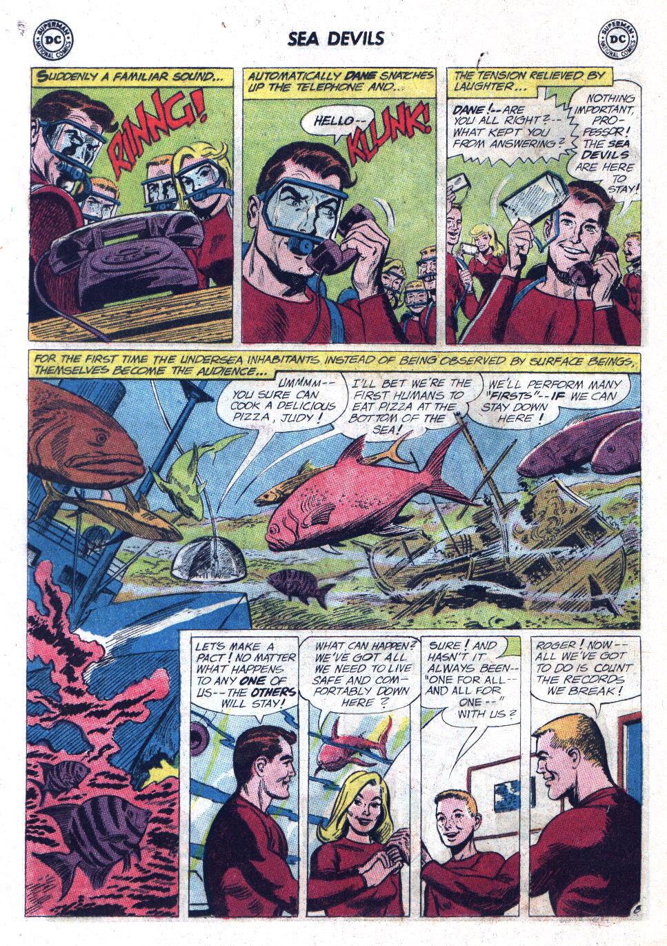 Read online Sea Devils comic -  Issue #11 - 12
