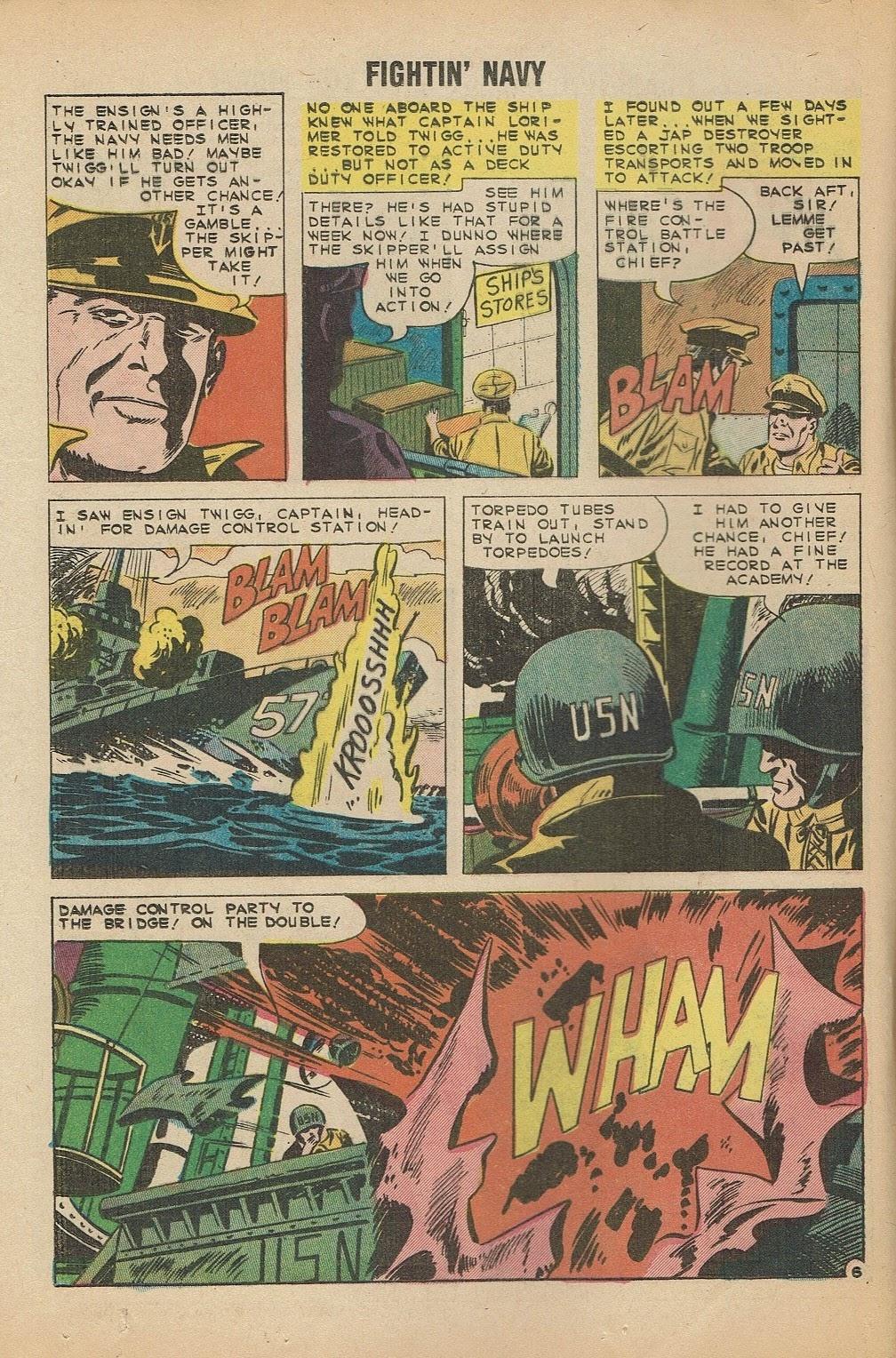 Read online Fightin' Navy comic -  Issue #91 - 20