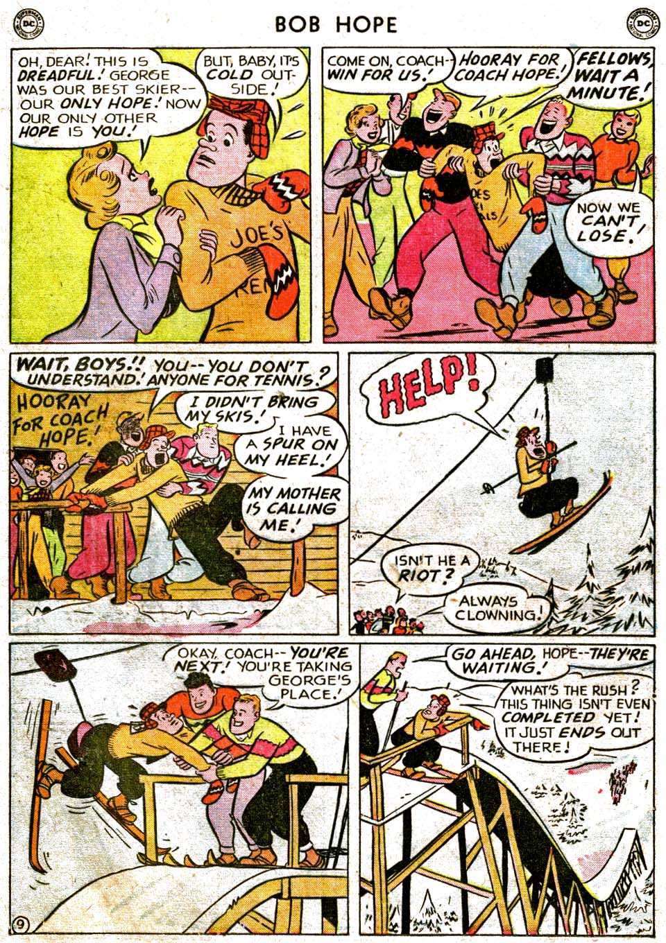 The Adventures of Bob Hope issue 1 - Page 25