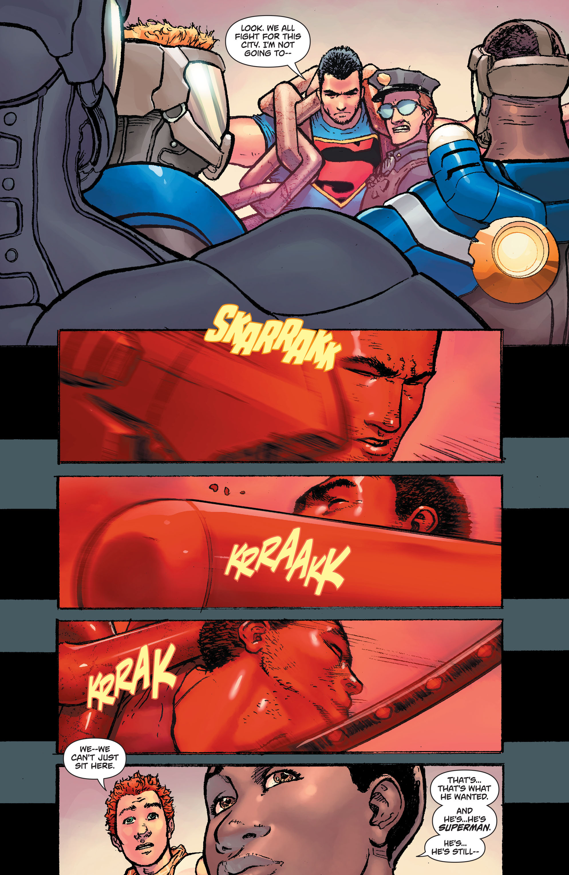 Read online Action Comics (2011) comic -  Issue #42 - 20
