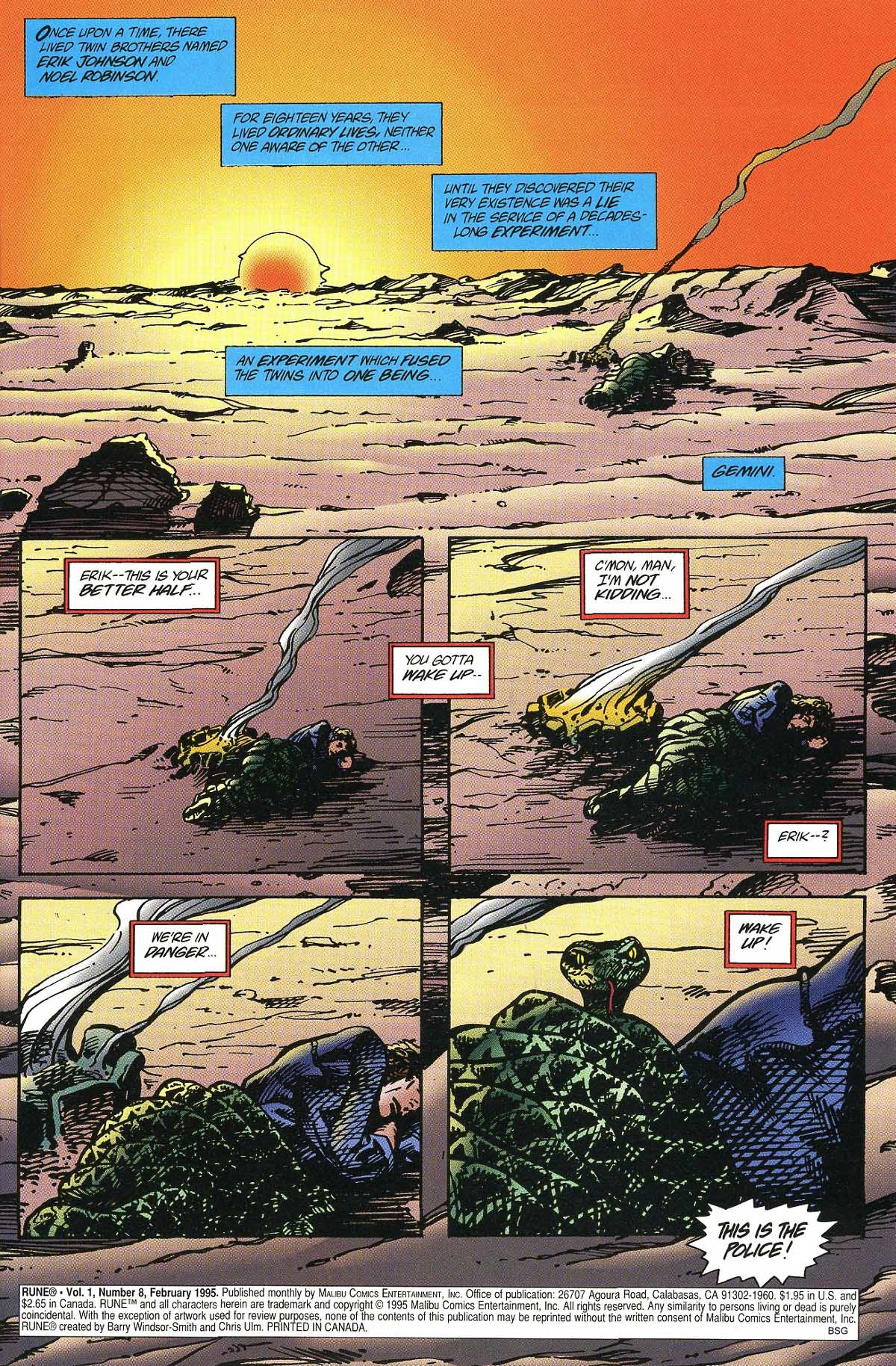 Read online Rune (1994) comic -  Issue #8 - 3
