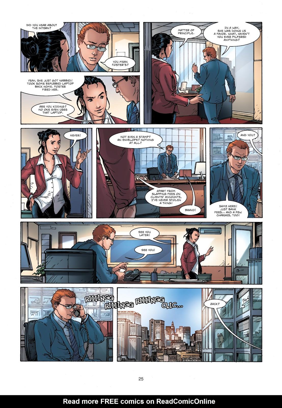 Read online Vigilantes comic -  Issue #1 - 25