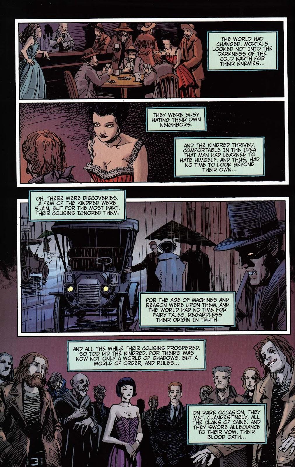 Read online Vampire the Masquerade comic -  Issue # Toreador - 42