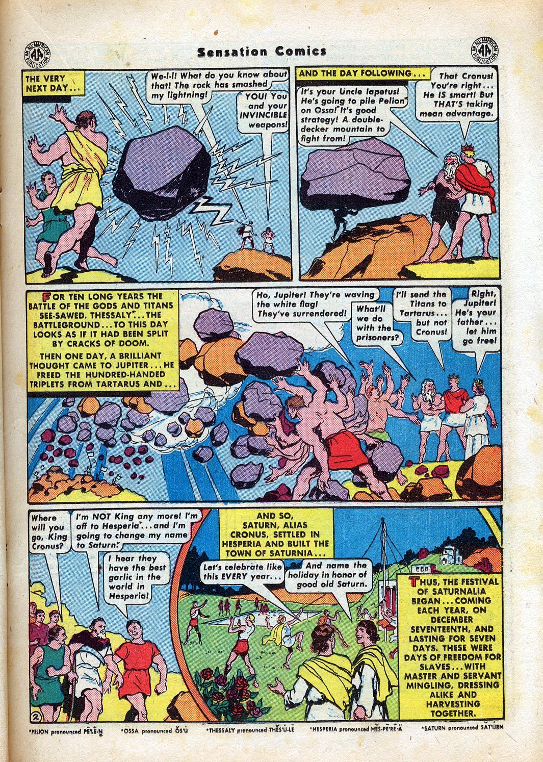 Read online Sensation (Mystery) Comics comic -  Issue #47 - 23