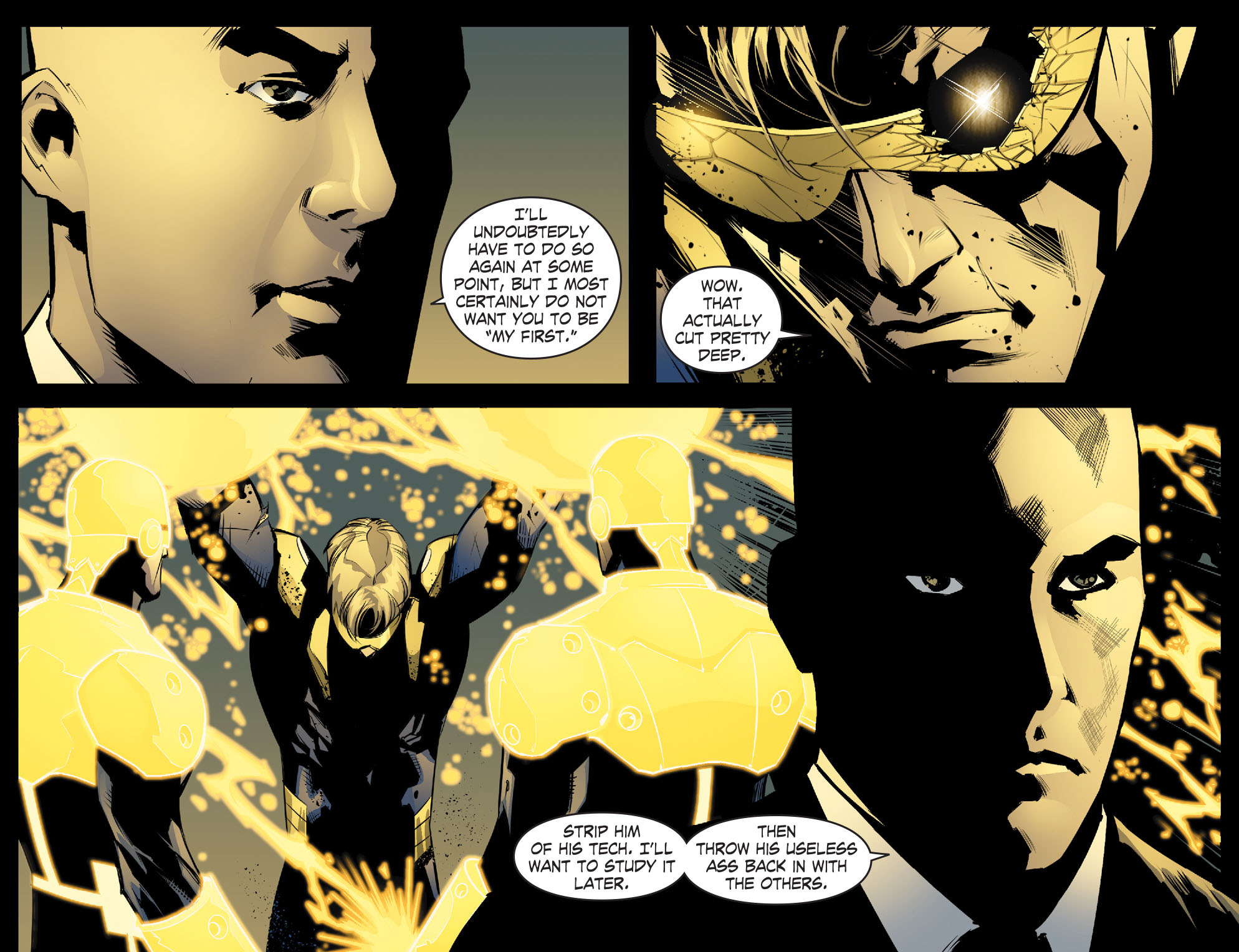 Read online Smallville: Chaos [II] comic -  Issue #8 - 8