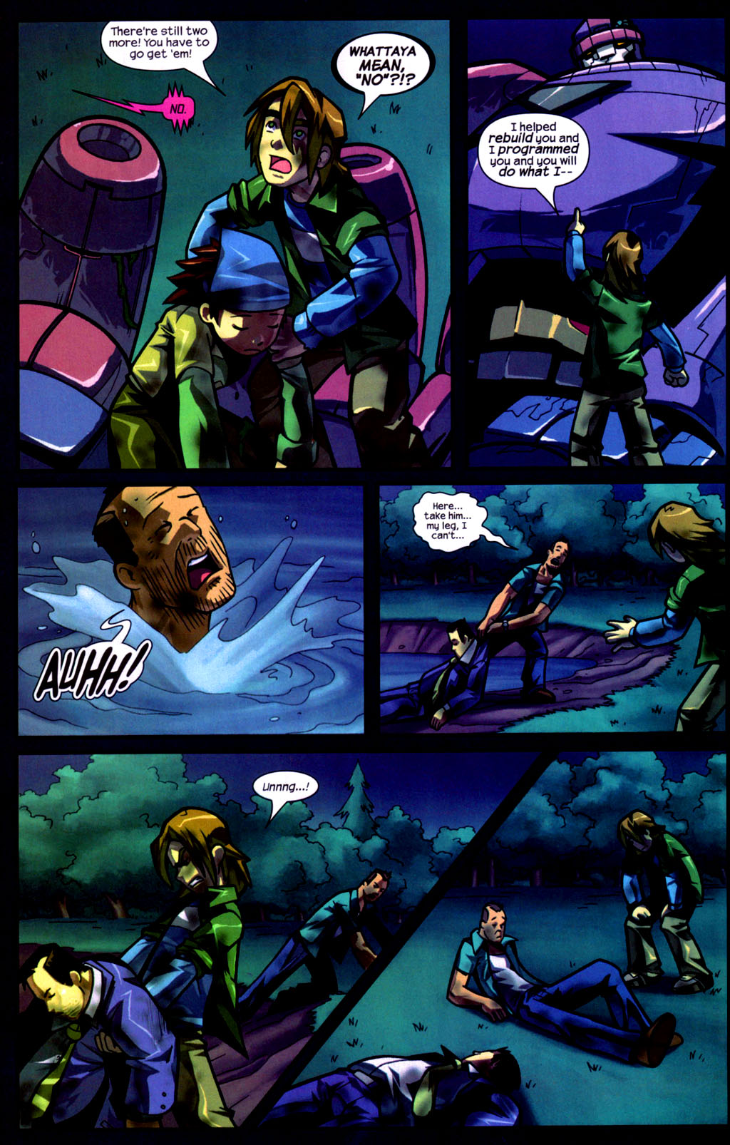 Read online Sentinel comic -  Issue #9 - 15