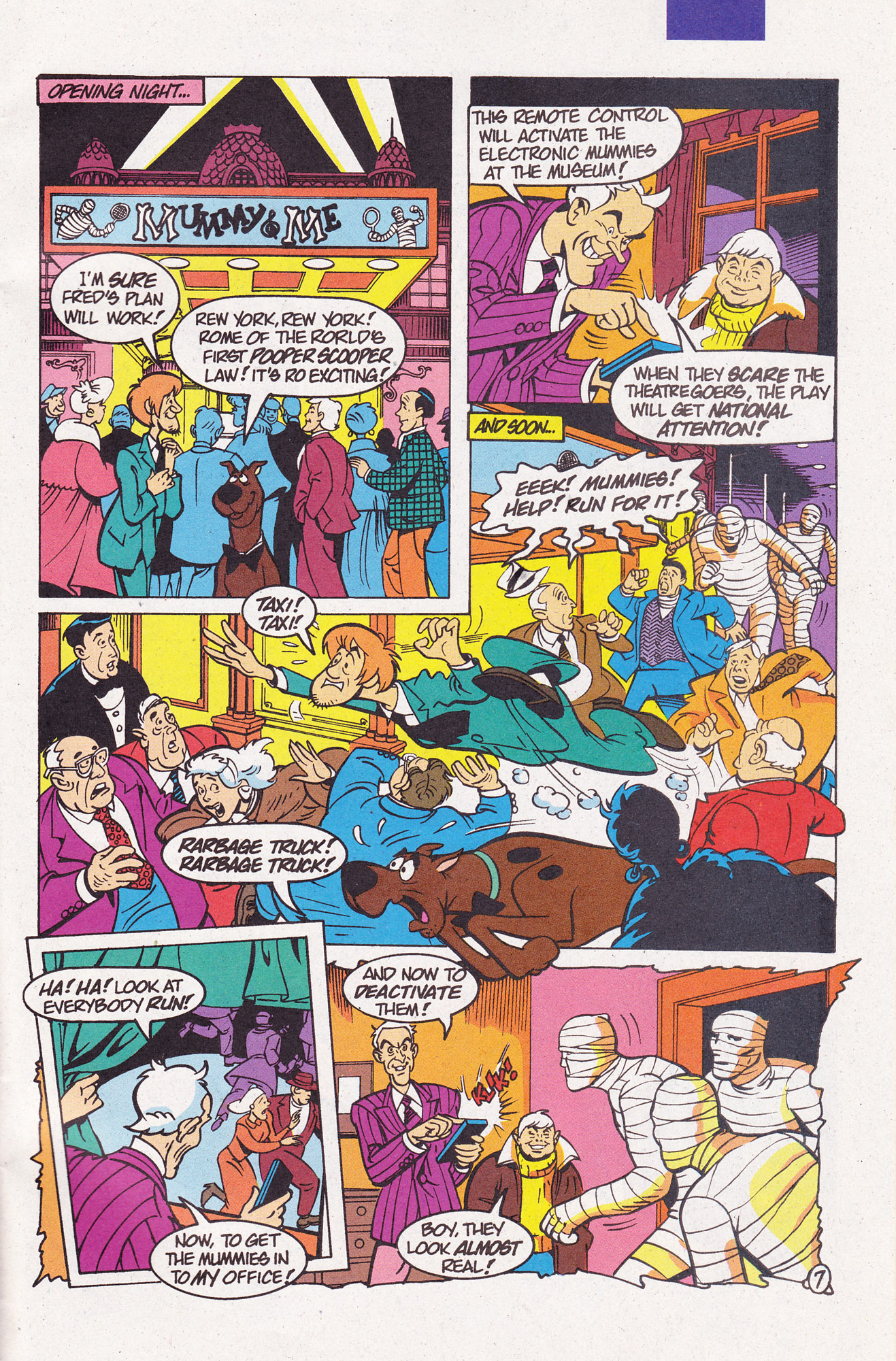 Read online Scooby-Doo (1995) comic -  Issue #7 - 31