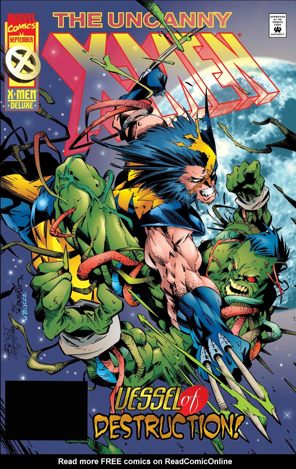 Uncanny X-Men (1963) 324 Page 1