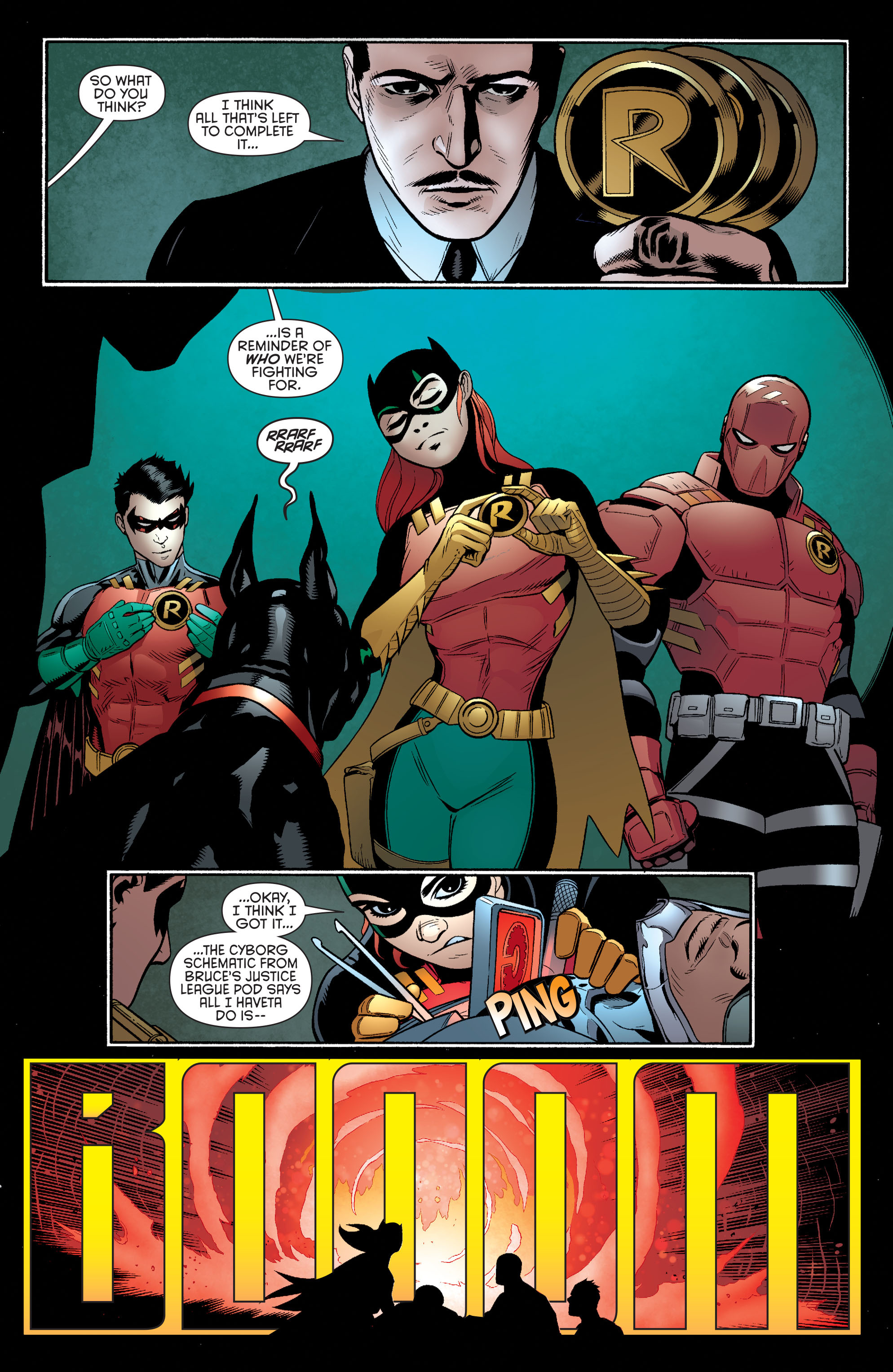 Read online Batman and Robin (2011) comic -  Issue #35 - 15