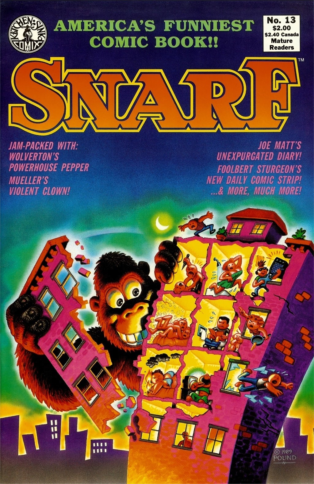 Snarf issue 13 - Page 1