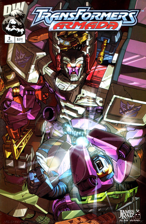 Read online Transformers Armada comic -  Issue #2 - 1