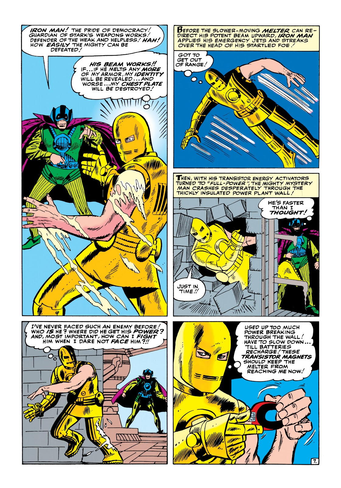 Read online Marvel Masterworks: The Invincible Iron Man comic -  Issue # TPB 1 (Part 2) - 27