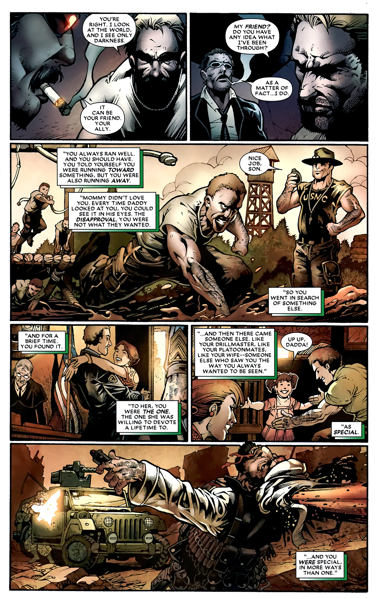 Read online Shadowland: Moon Knight comic -  Issue #1 - 23