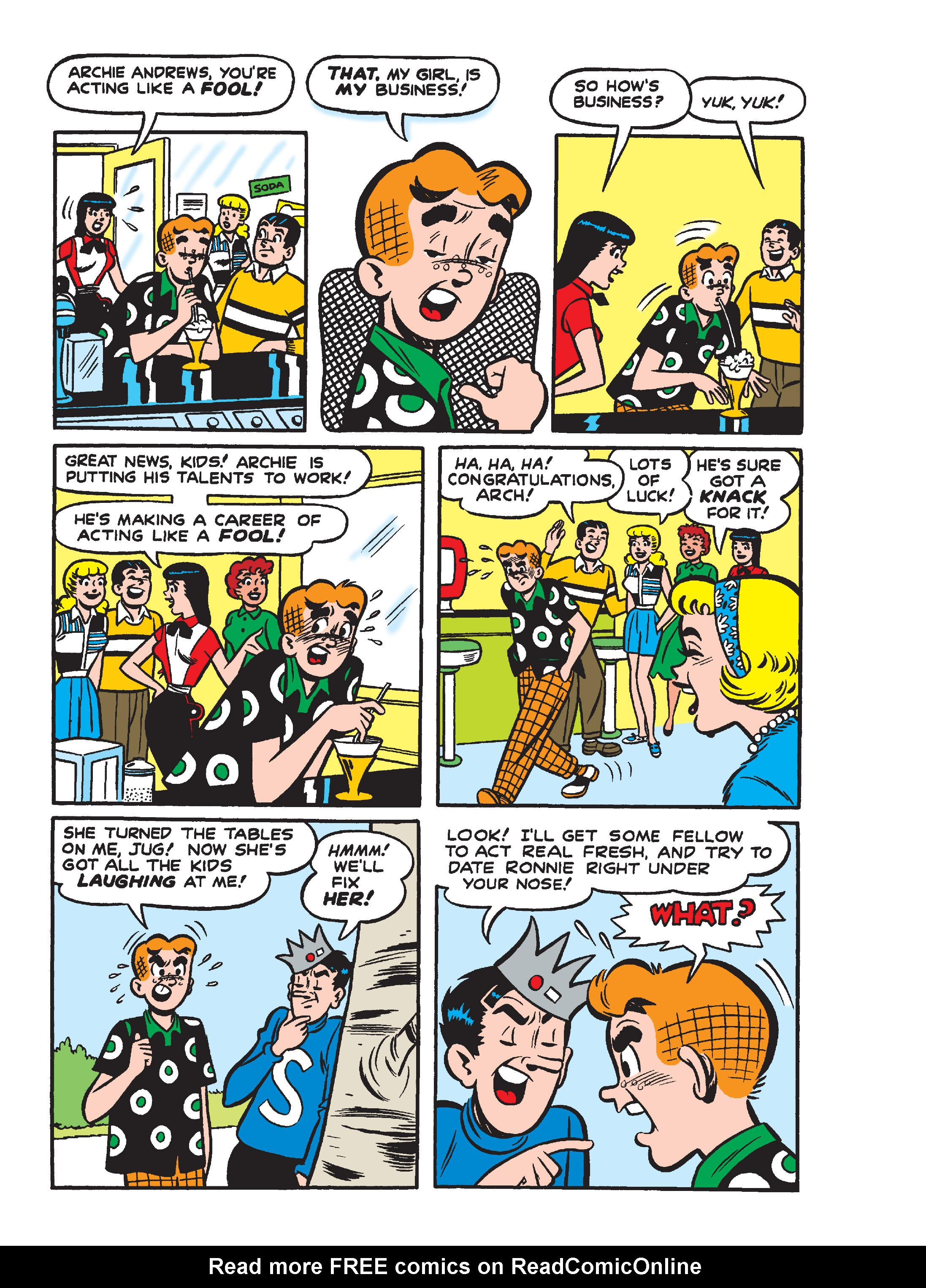 Read online Archie Giant Comics Collection comic -  Issue #Archie Giant Comics Collection TPB (Part 2) - 28