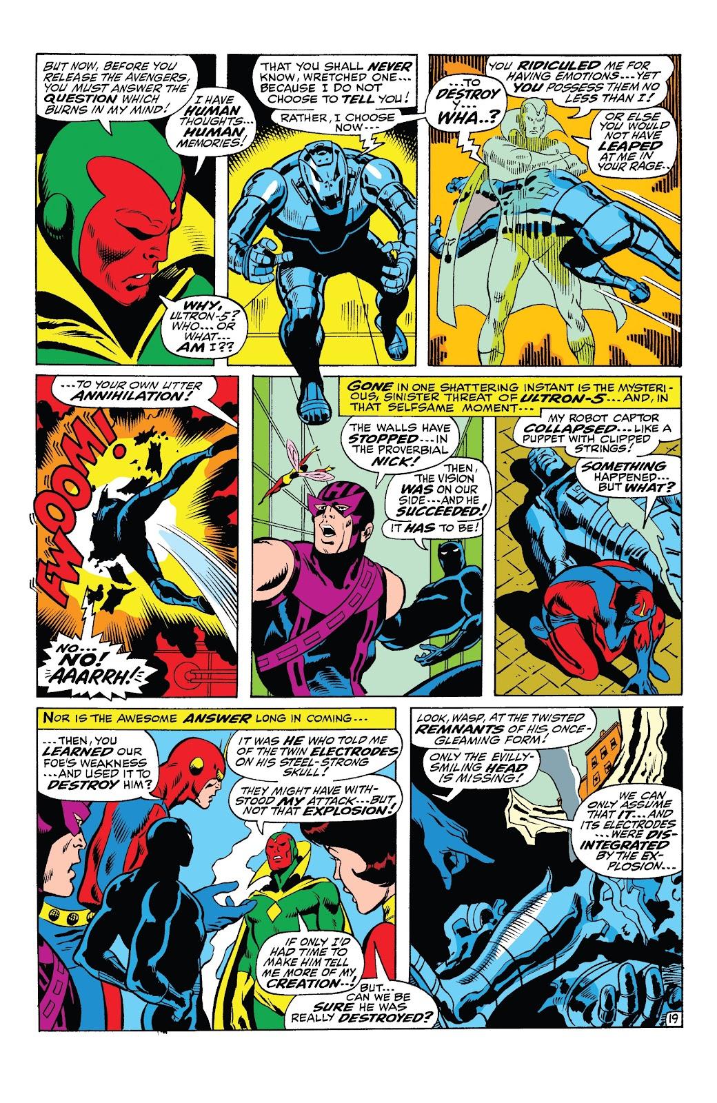 Read online Marvel Tales: Avengers comic -  Issue # Full - 45