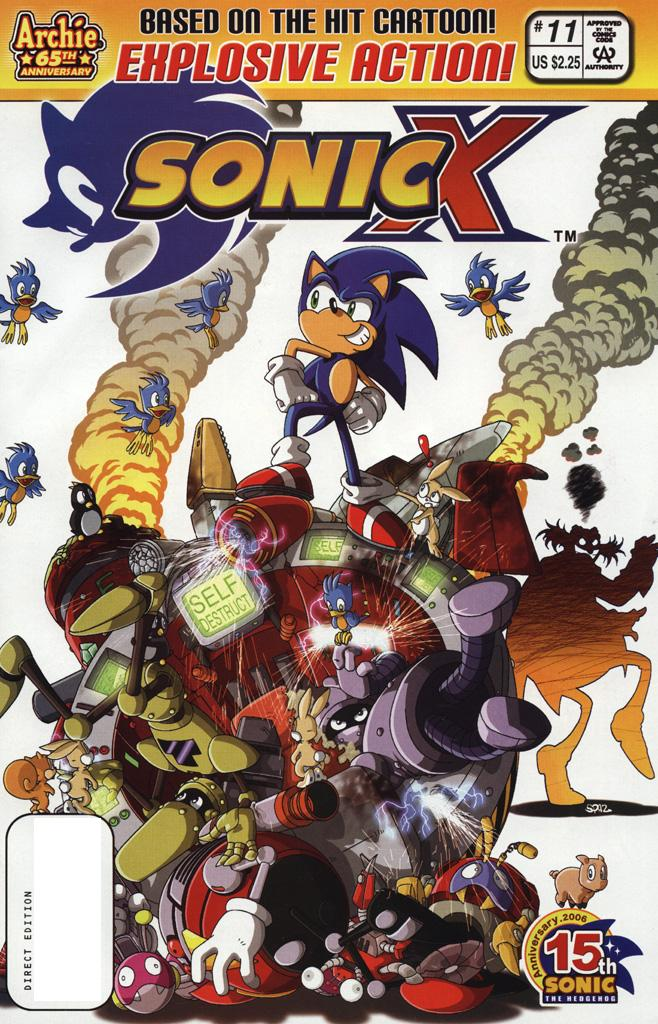 Read online Sonic X comic -  Issue #11 - 1