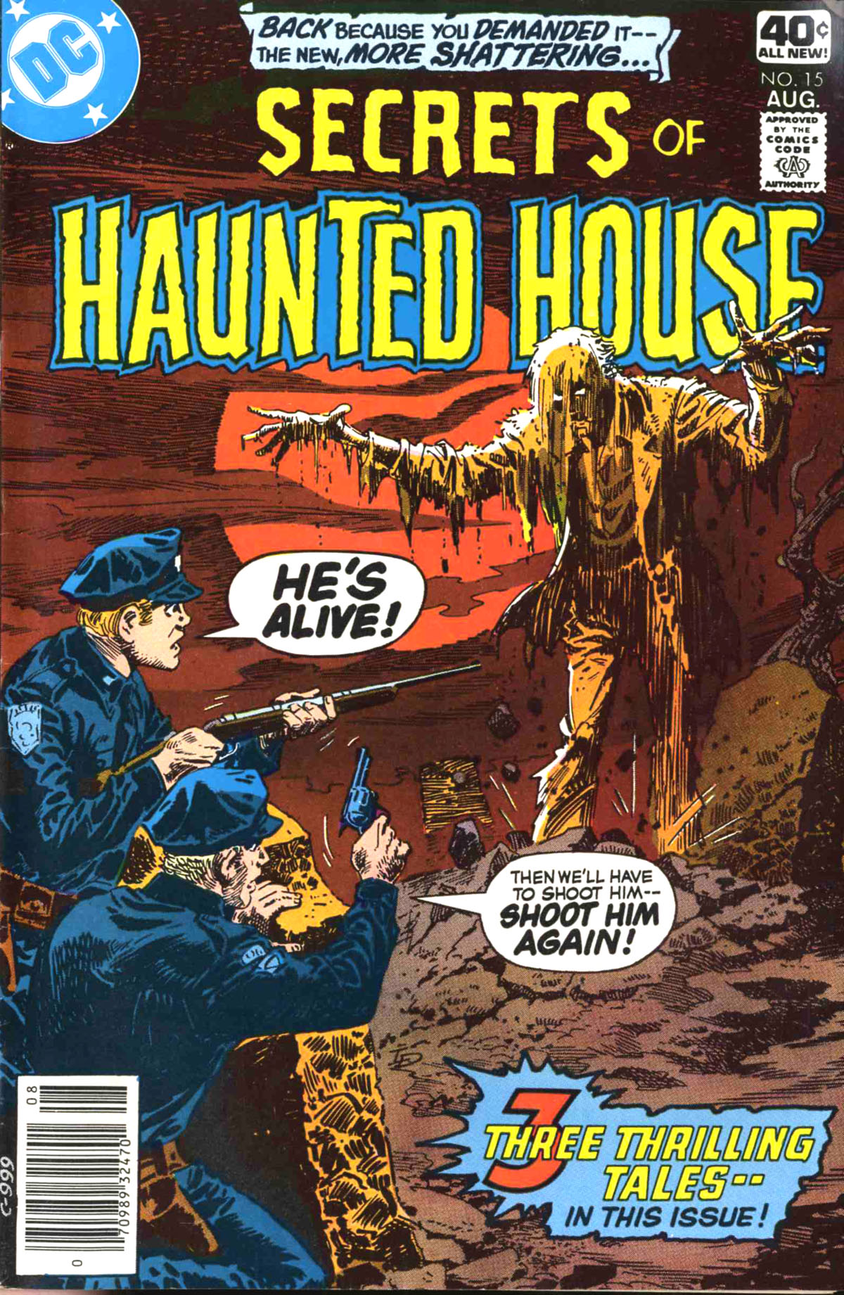 Read online Secrets of Haunted House comic -  Issue #15 - 1
