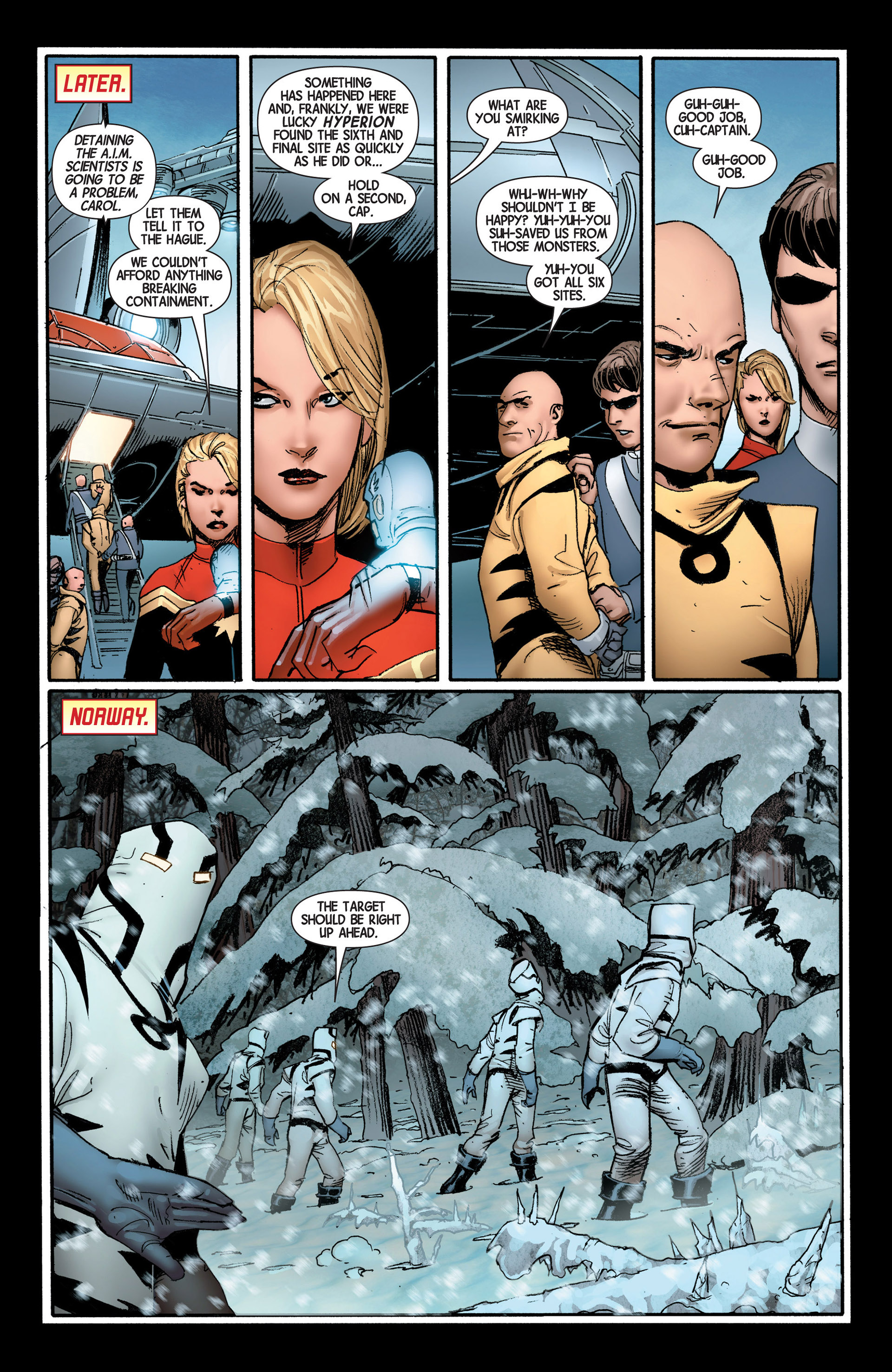 Read online Avengers (2013) comic -  Issue #4 - 23