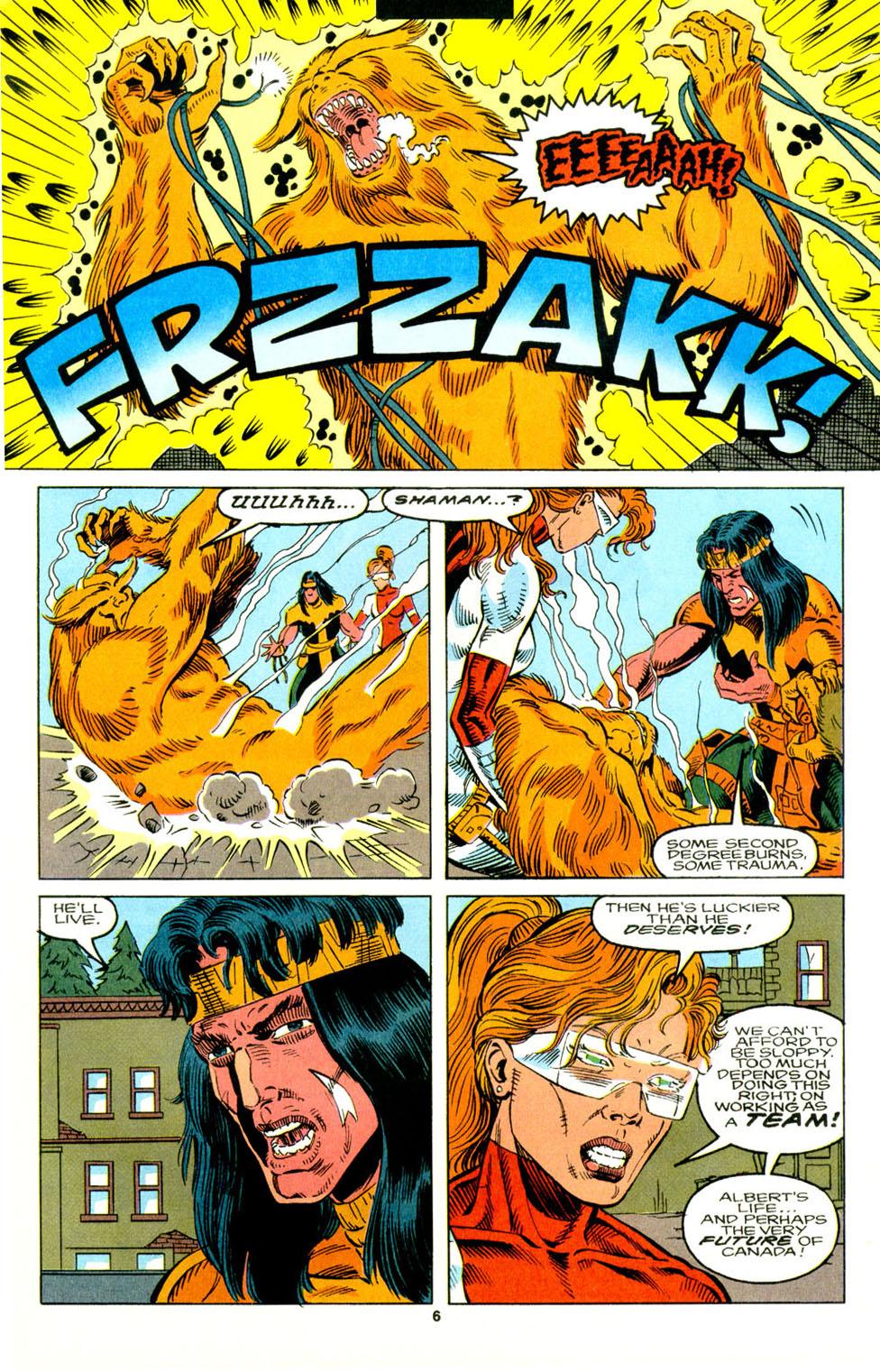 Read online Alpha Flight (1983) comic -  Issue #129 - 6