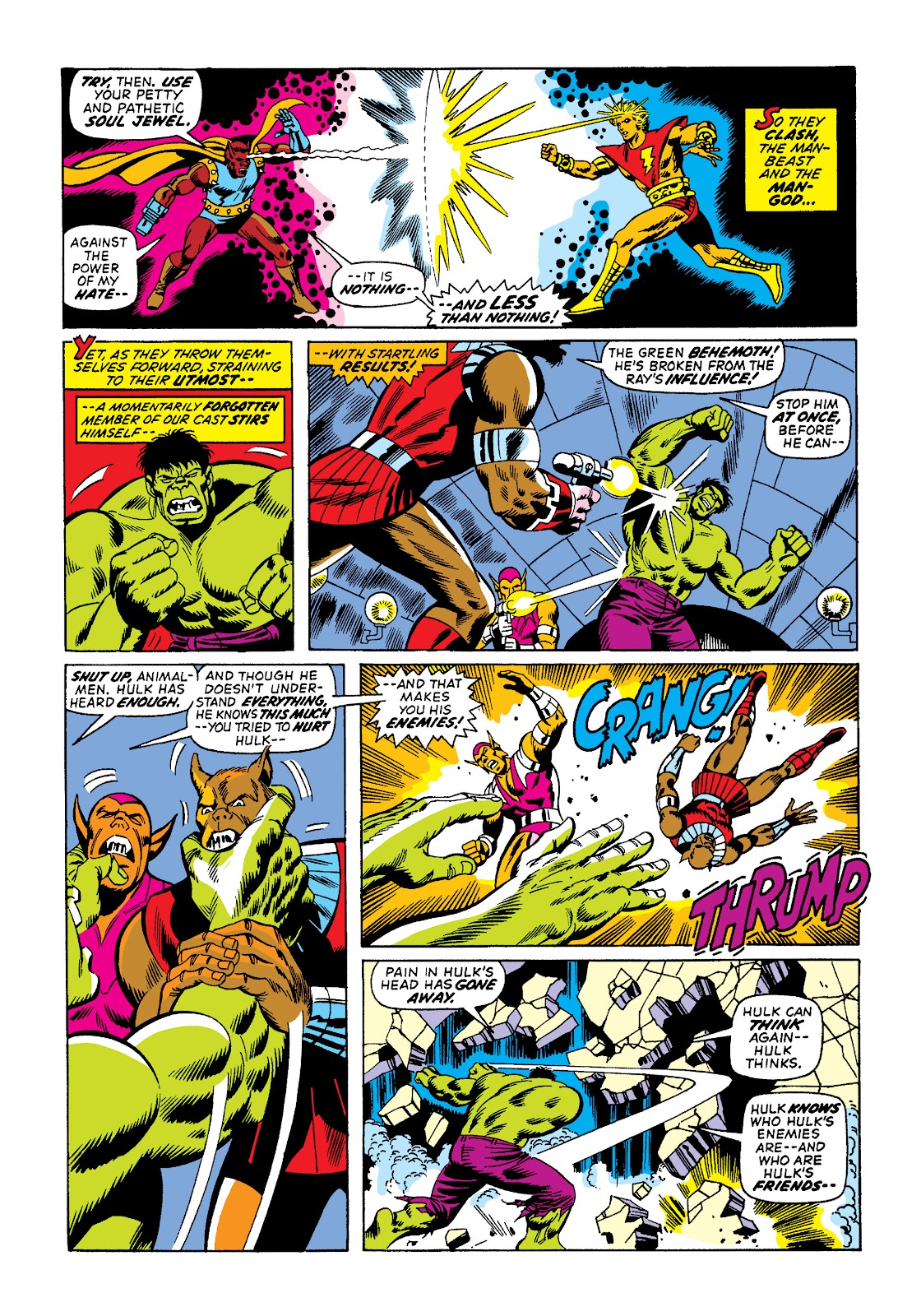 Read online Marvel Masterworks: The Incredible Hulk comic -  Issue # TPB 10 (Part 2) - 41