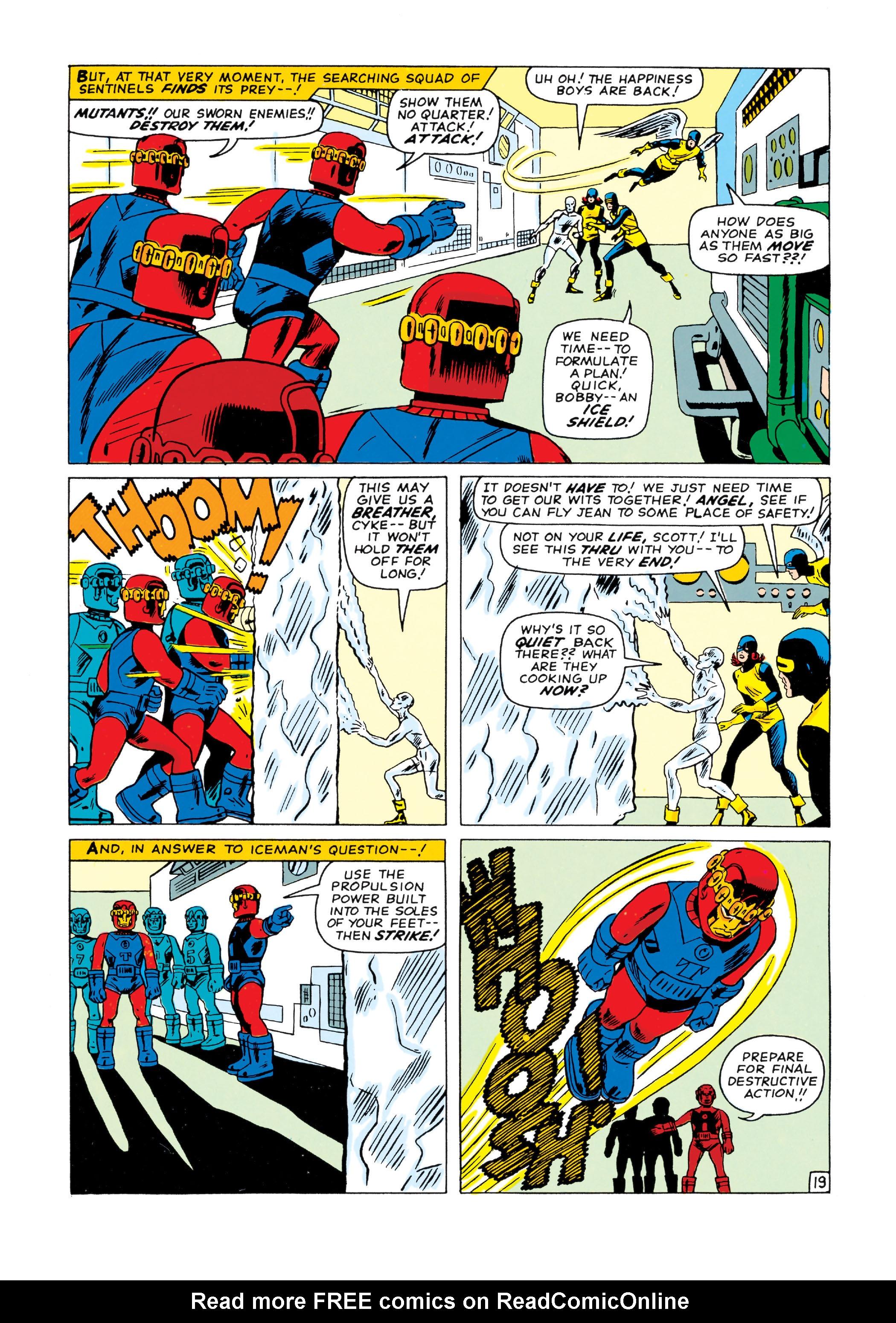 Read online Uncanny X-Men (1963) comic -  Issue #15 - 20