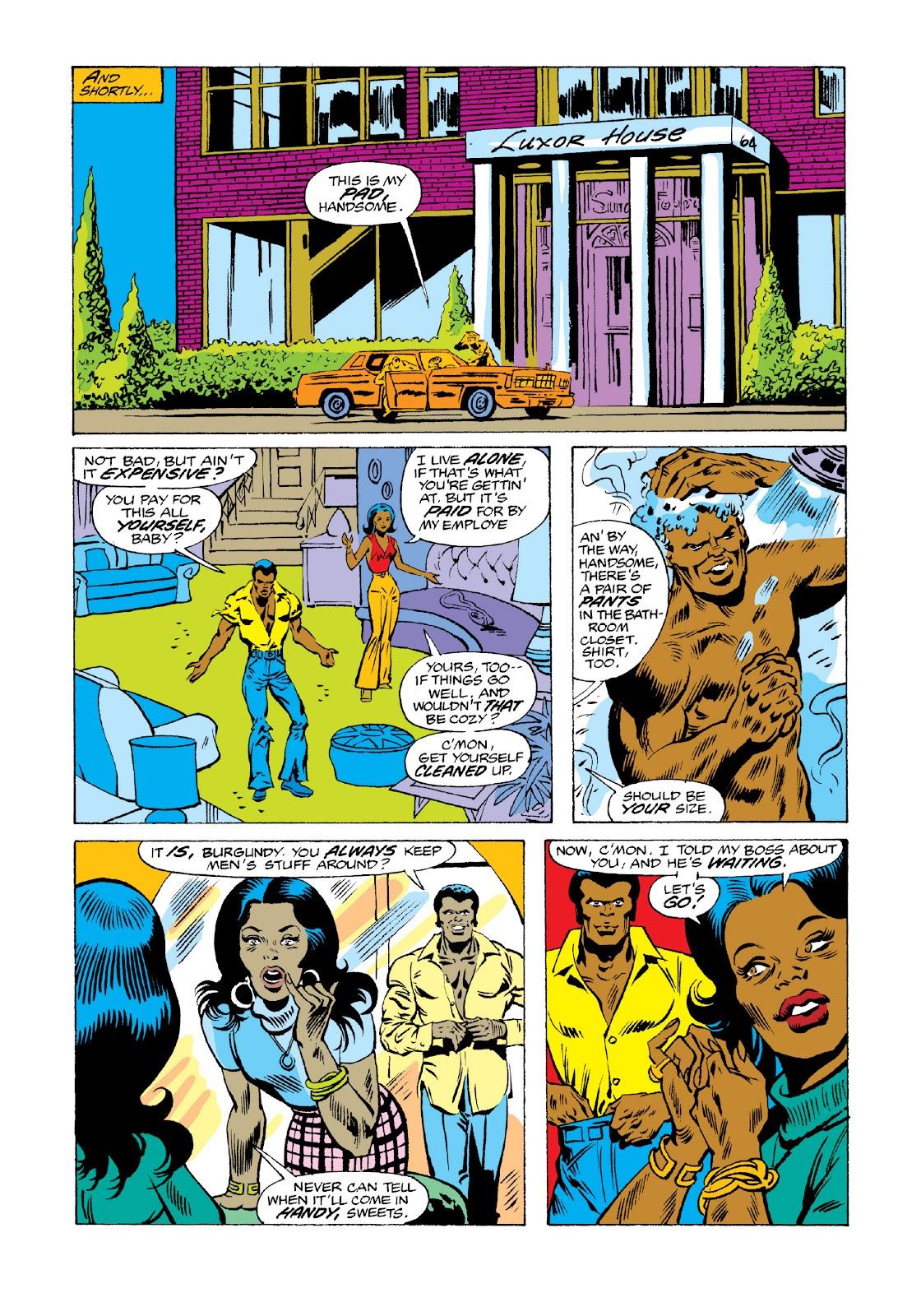 Read online Marvel Masterworks: Luke Cage, Power Man comic -  Issue # TPB 3 (Part 3) - 43