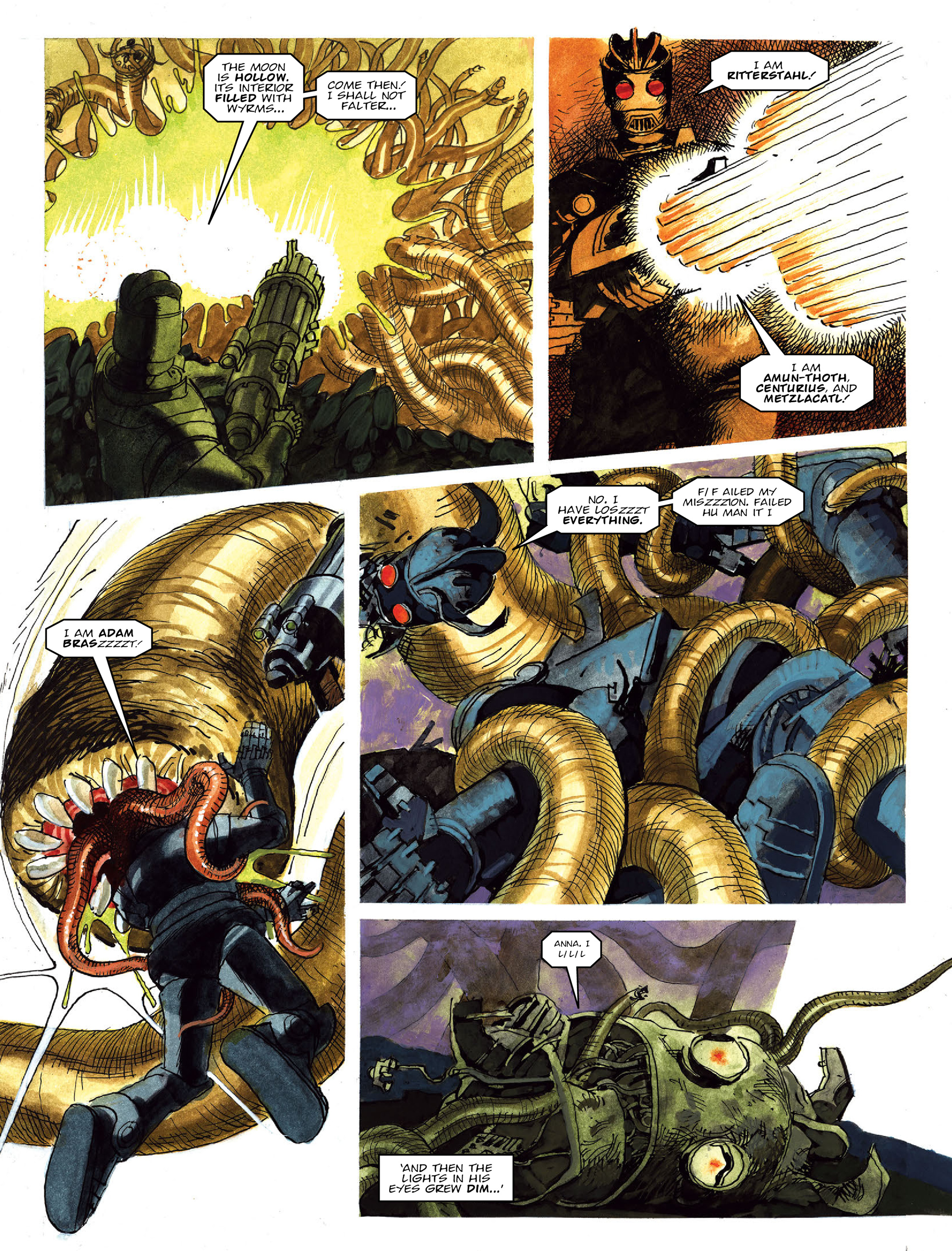 Read online 2000 AD comic -  Issue #2021 - 24