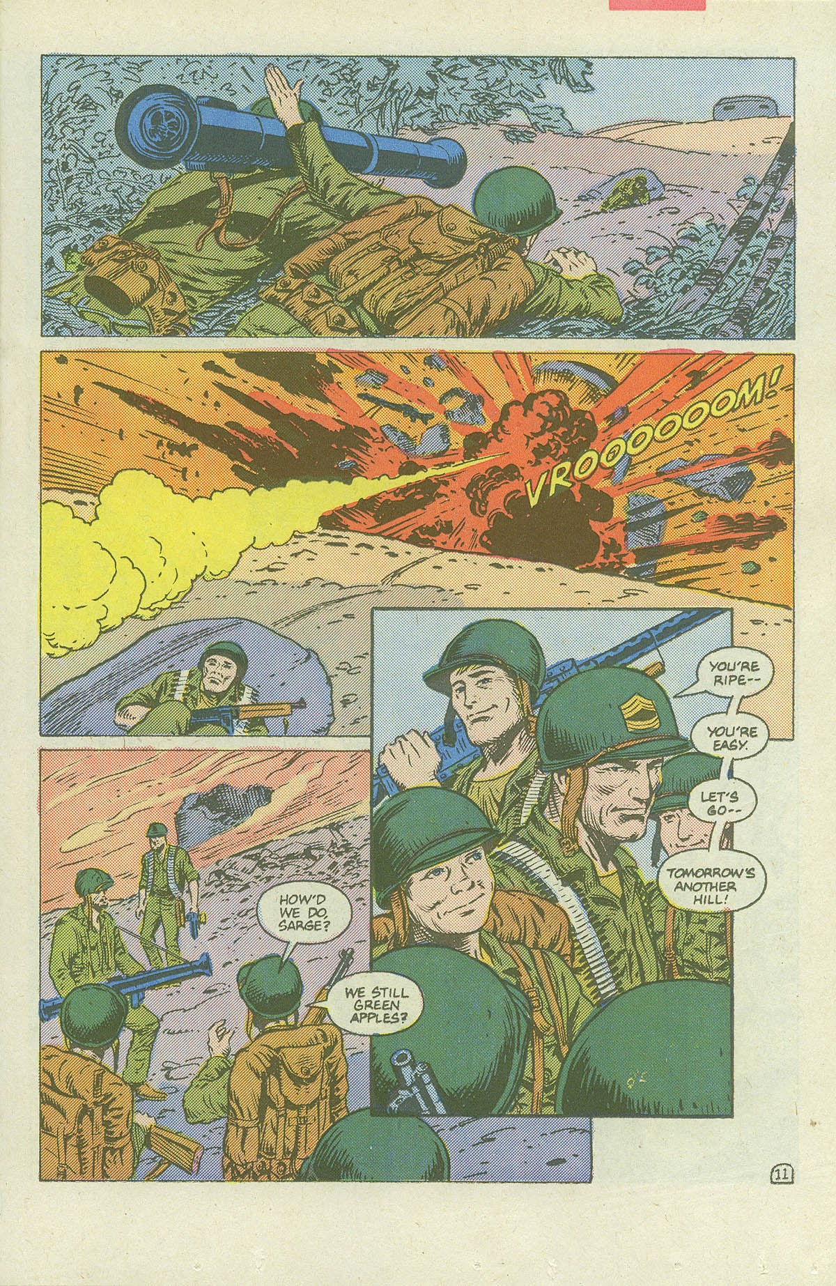 Read online Sgt. Rock comic -  Issue #420 - 16