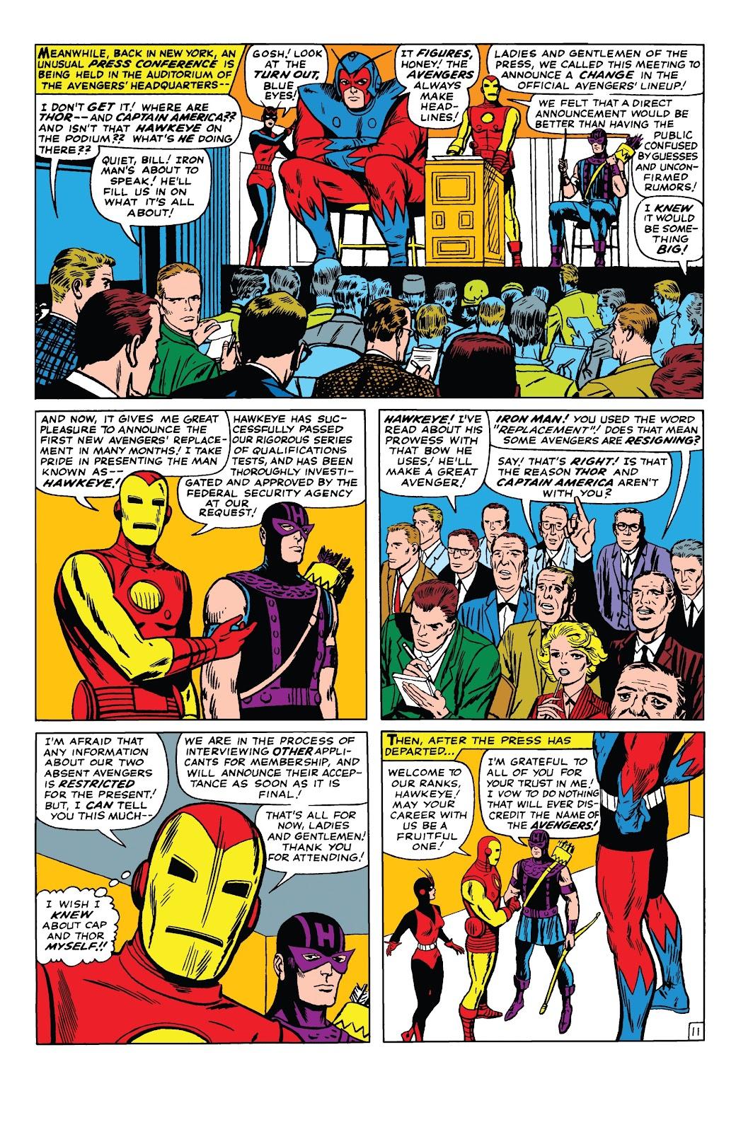 Read online Marvel Tales: Avengers comic -  Issue # Full - 16