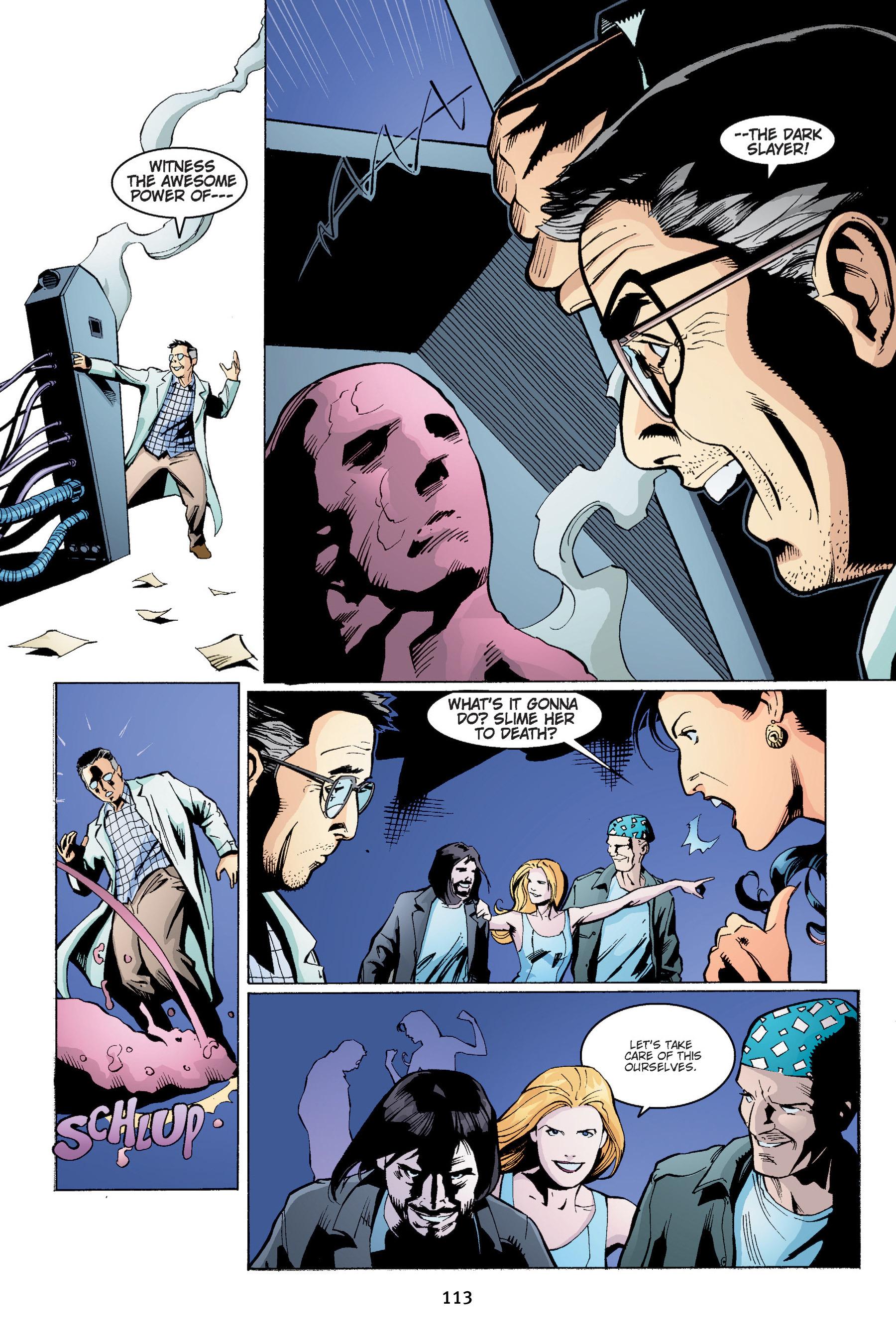 Read online Buffy the Vampire Slayer: Omnibus comic -  Issue # TPB 4 - 114
