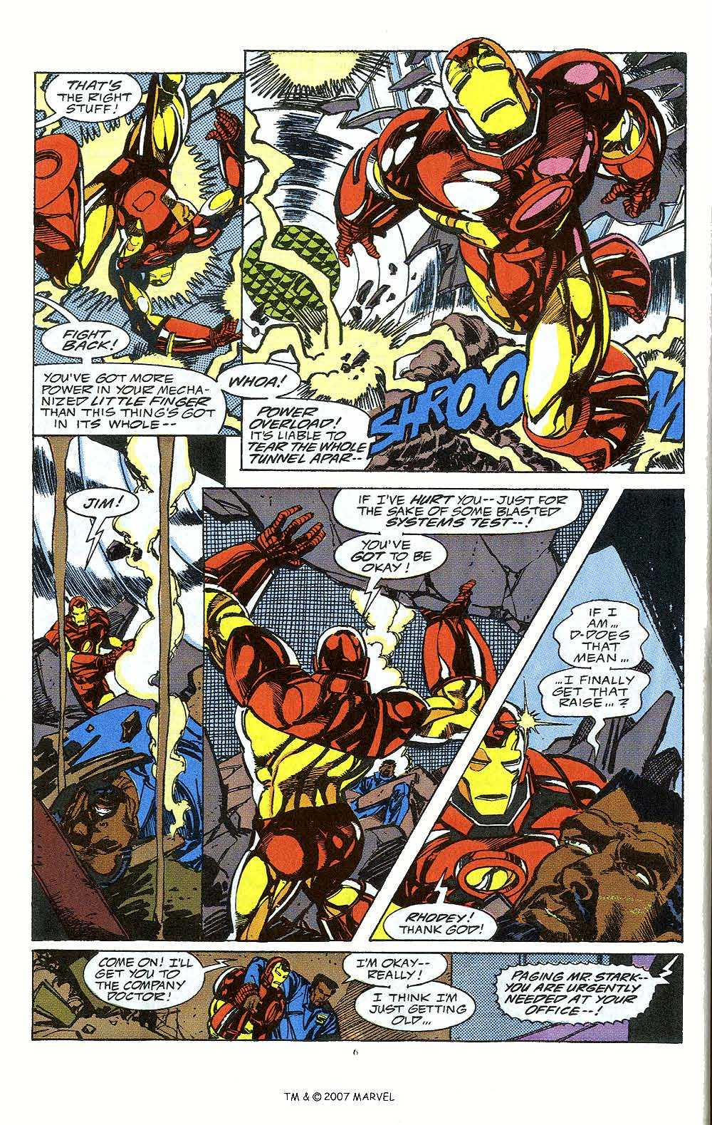 Iron Man Annual issue 12 - Page 8