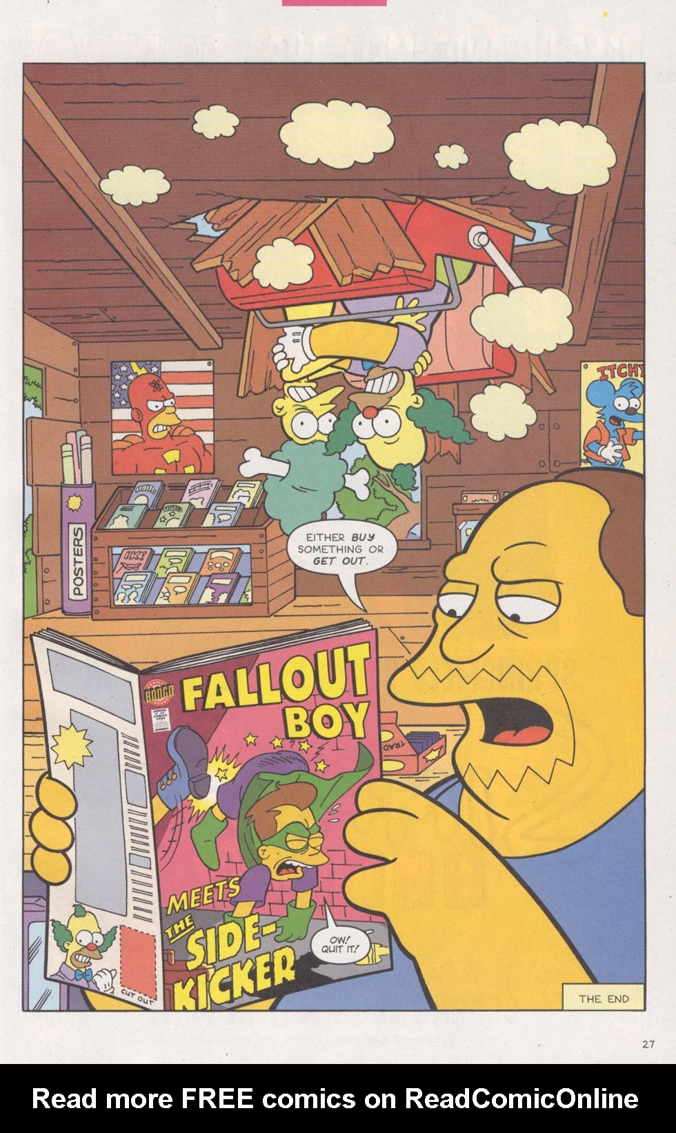 Read online Simpsons Comics comic -  Issue #93 - 28