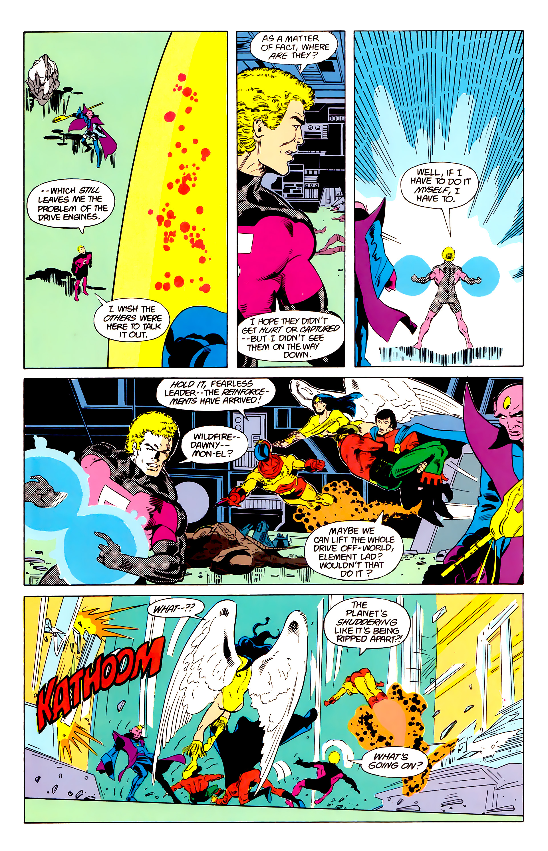 Legion of Super-Heroes (1984) 20 Page 20