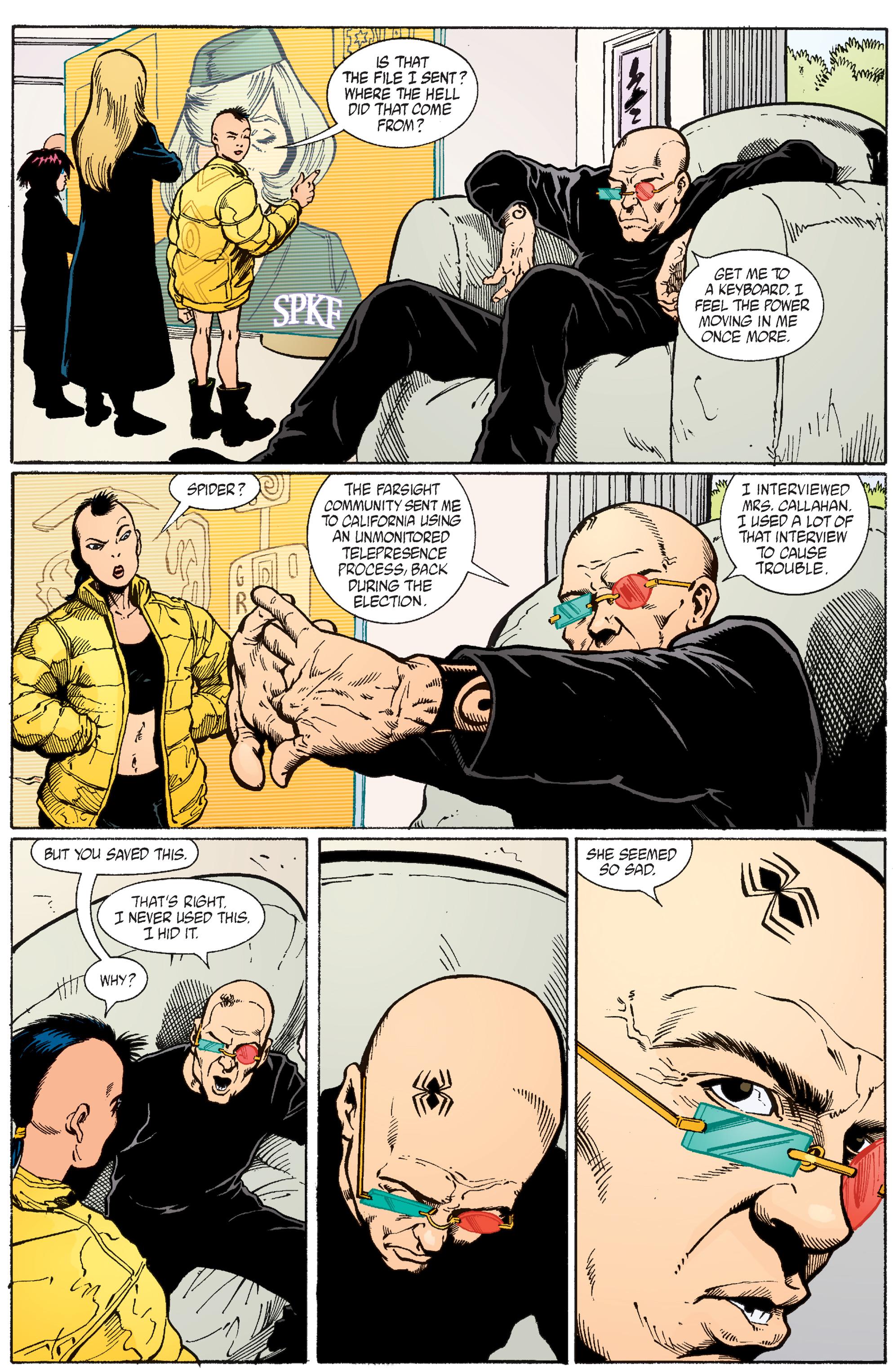 Read online Transmetropolitan comic -  Issue #56 - 10
