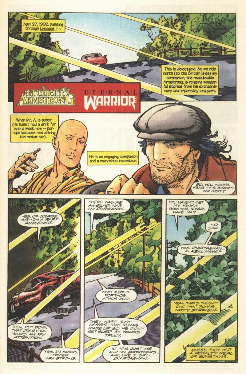 Read online Eternal Warrior (1992) comic -  Issue #8 - 2