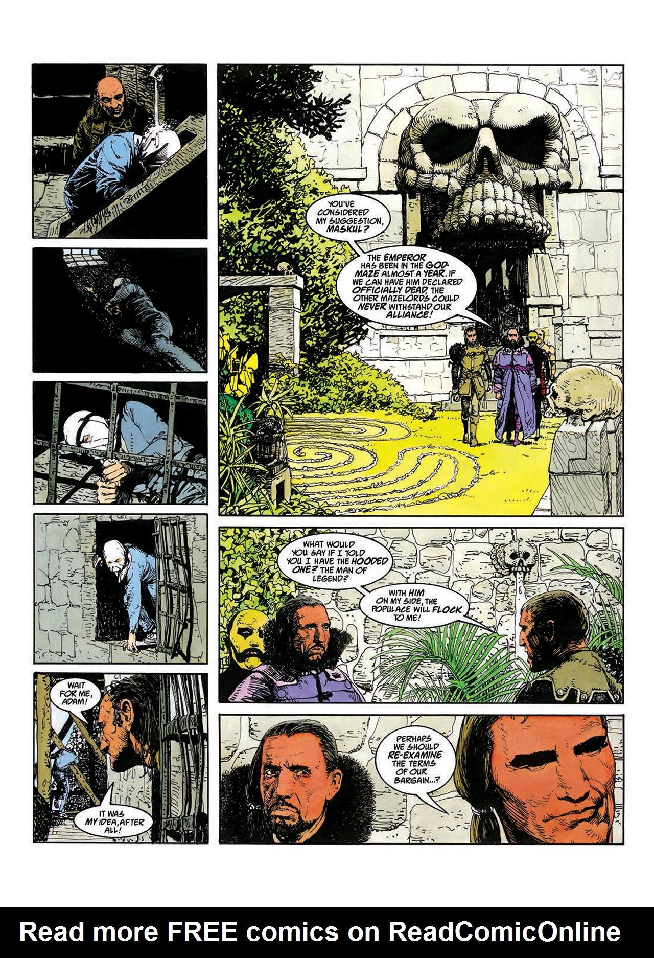 Read online Mazeworld comic -  Issue # TPB - 35