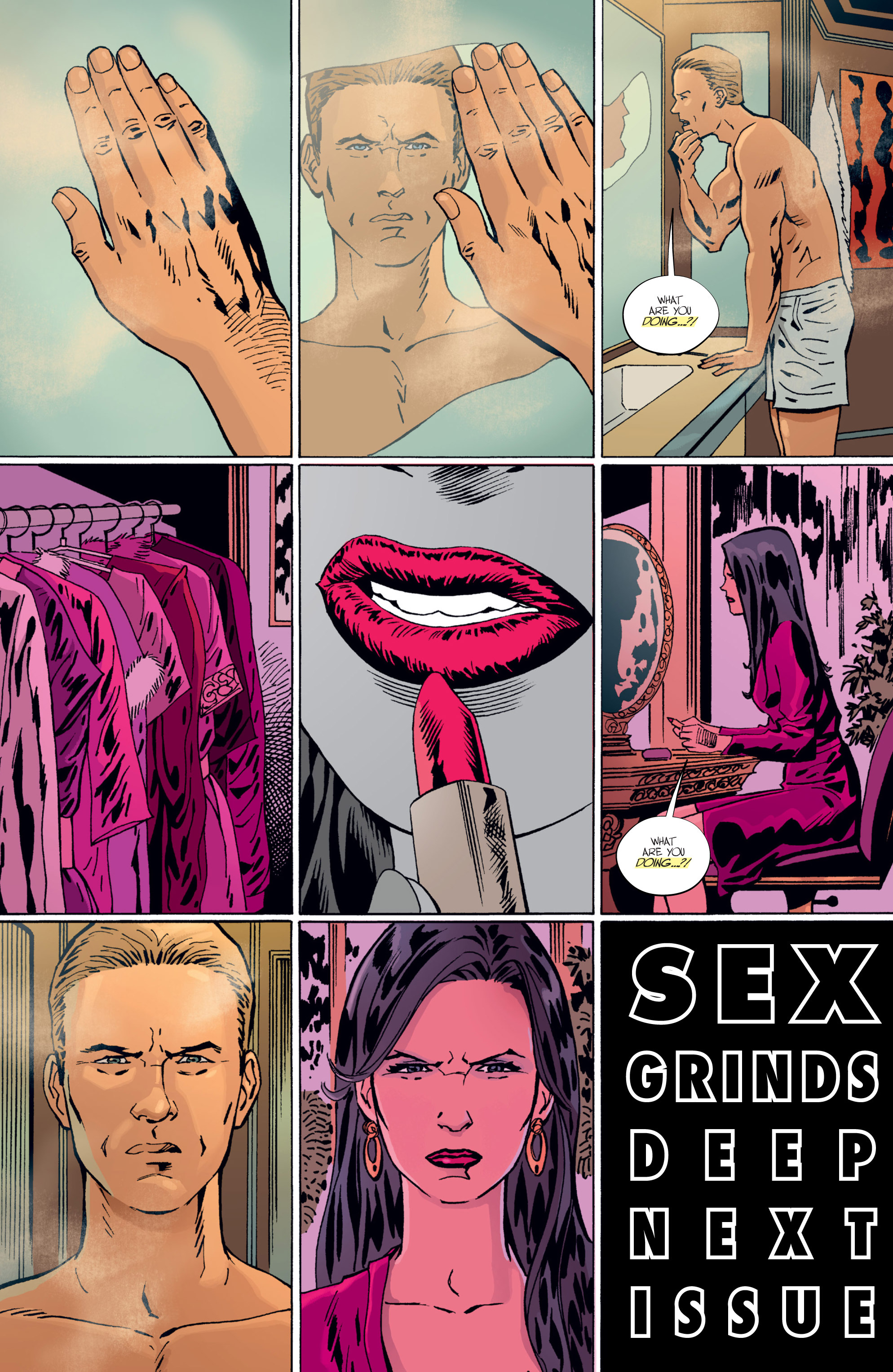Read online Sex comic -  Issue #19 - 20