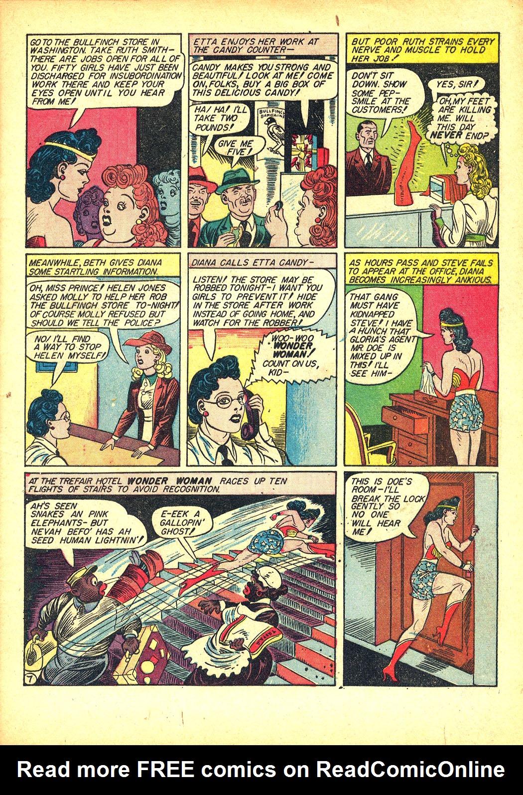 Read online Sensation (Mystery) Comics comic -  Issue #8 - 9