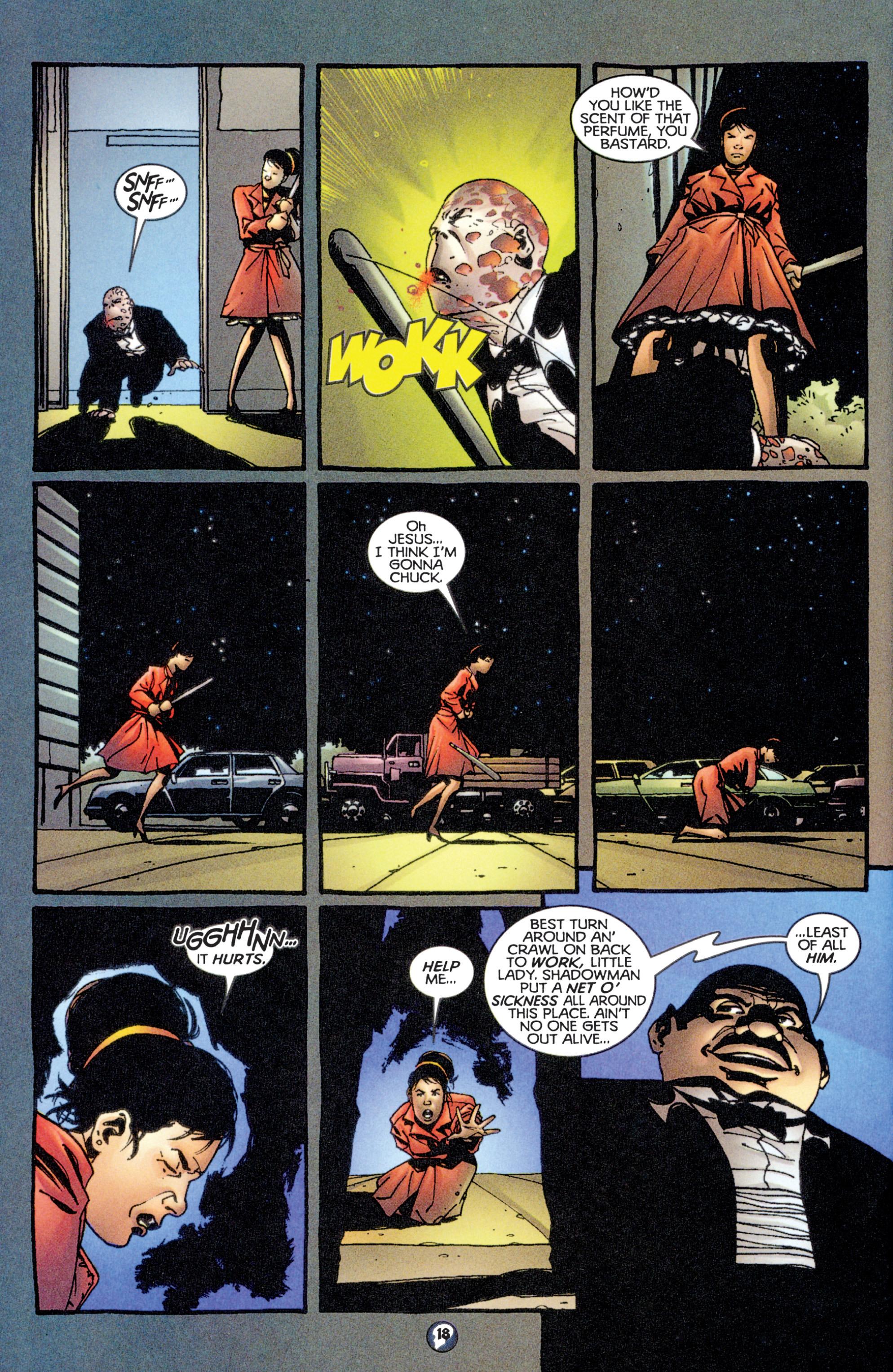 Read online Shadowman (1997) comic -  Issue #14 - 15